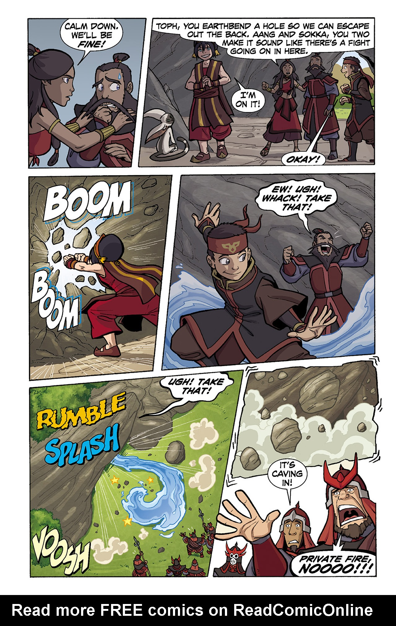 Nickelodeon Avatar: The Last Airbender - The Lost Adventures chap full pic 138