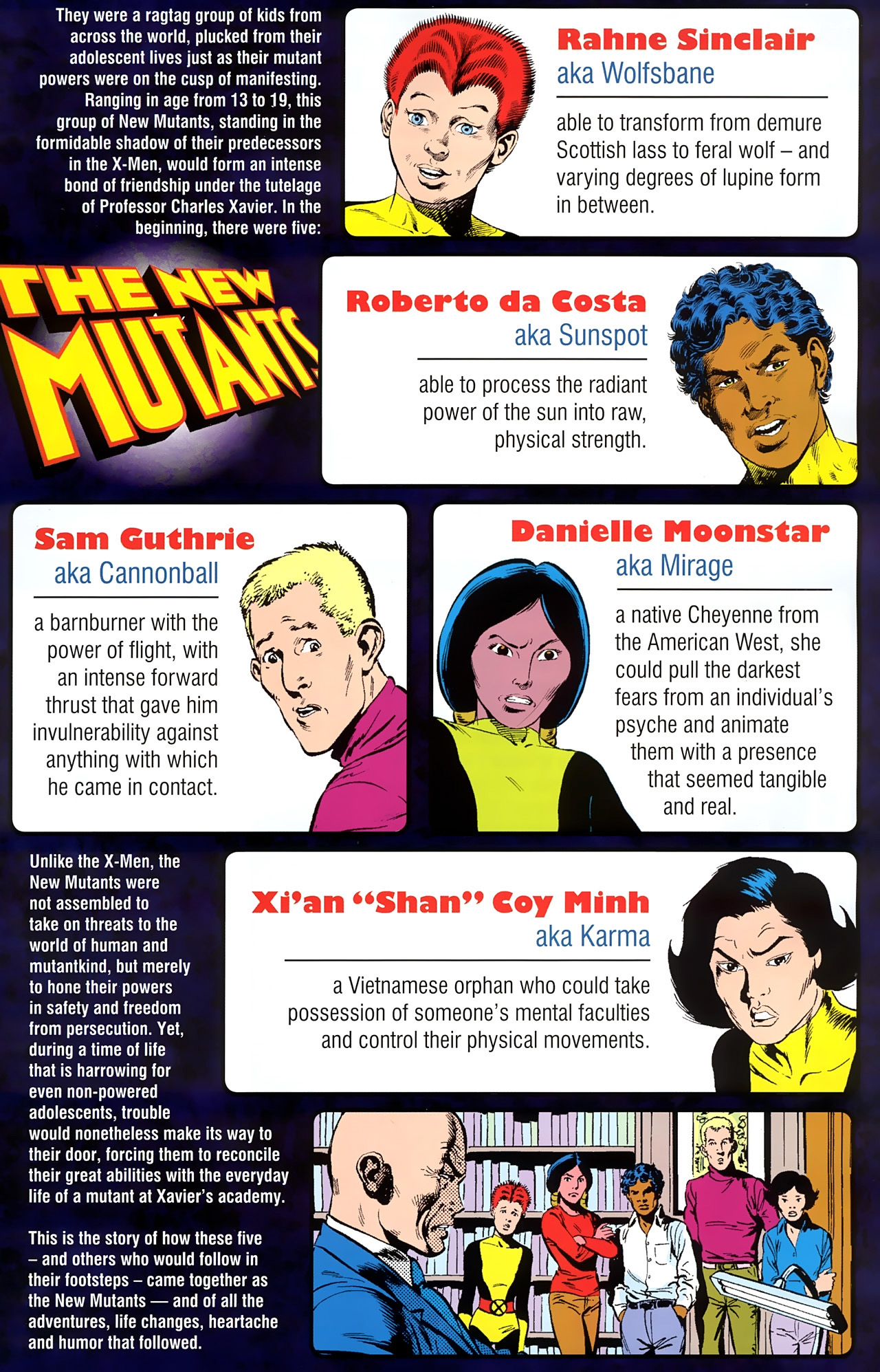 Read online New Mutants Saga comic -  Issue # Full - 3