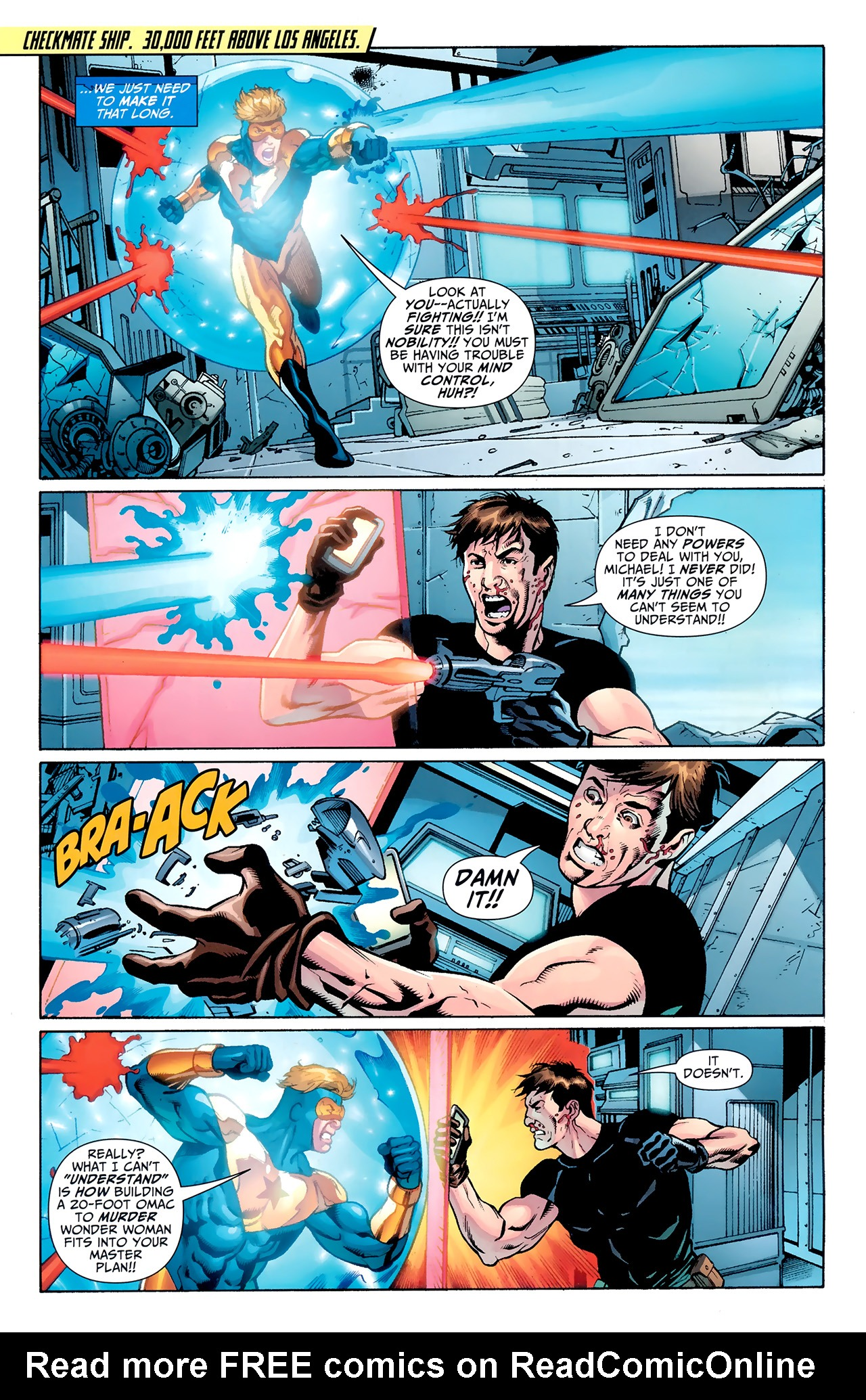 Read online Justice League: Generation Lost comic -  Issue #24 - 8