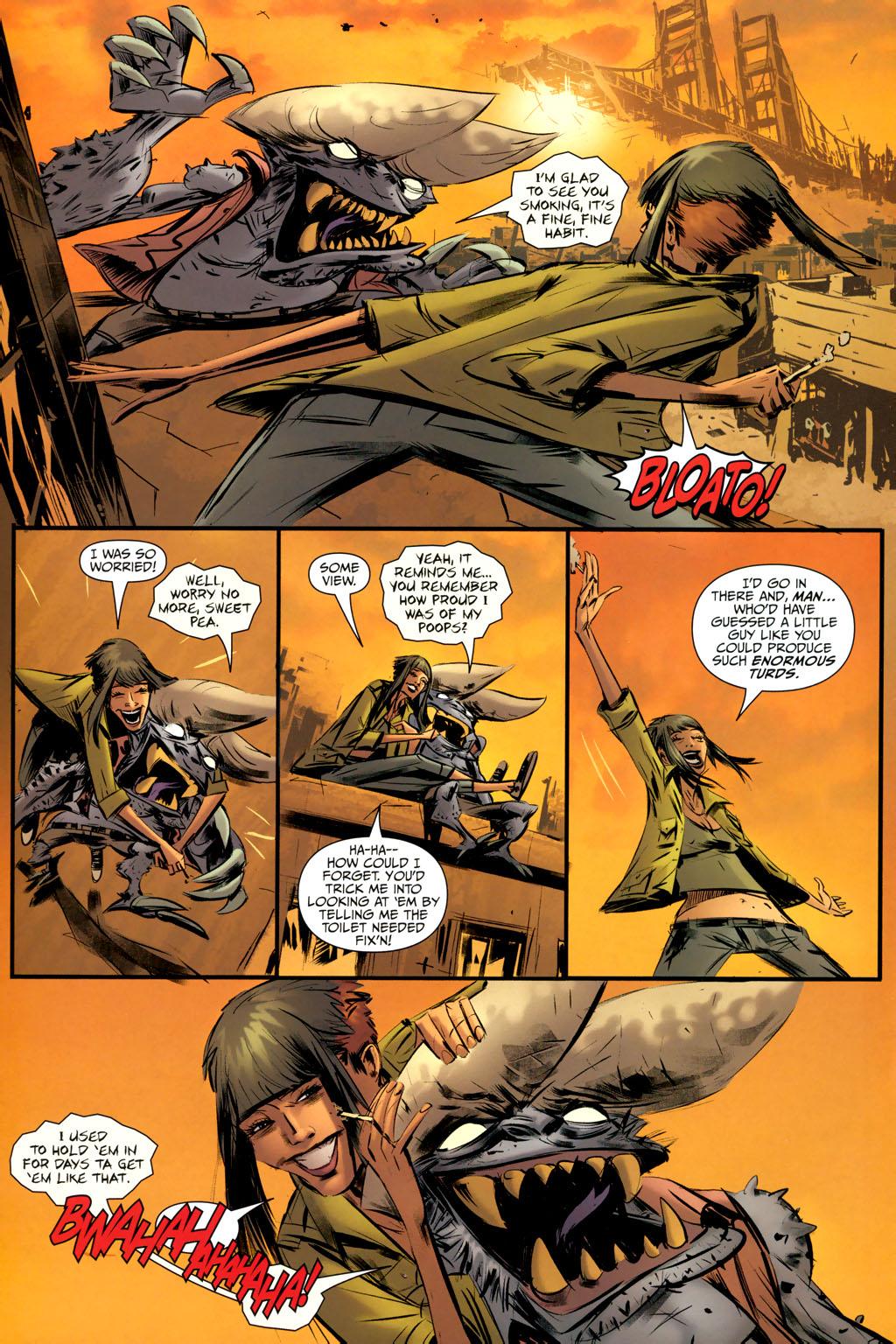 Strange Girl Issue #9 #10 - English 18