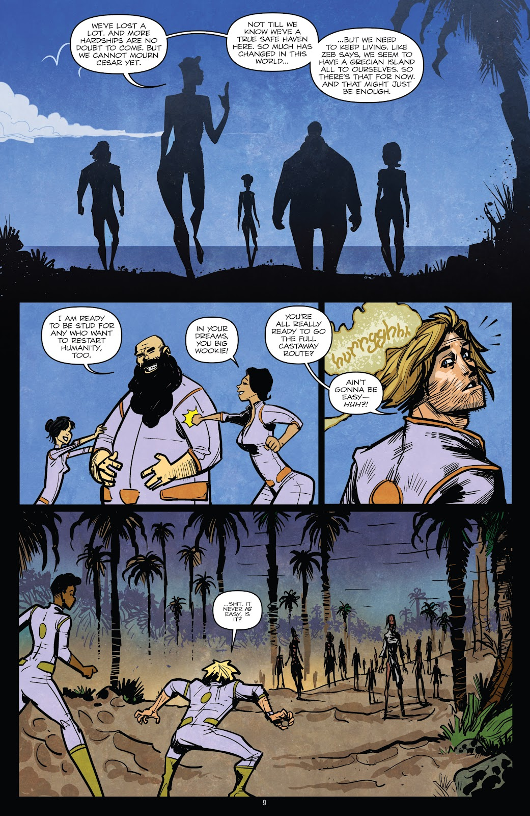 Zombies vs Robots (2015) Issue #5 Page 11