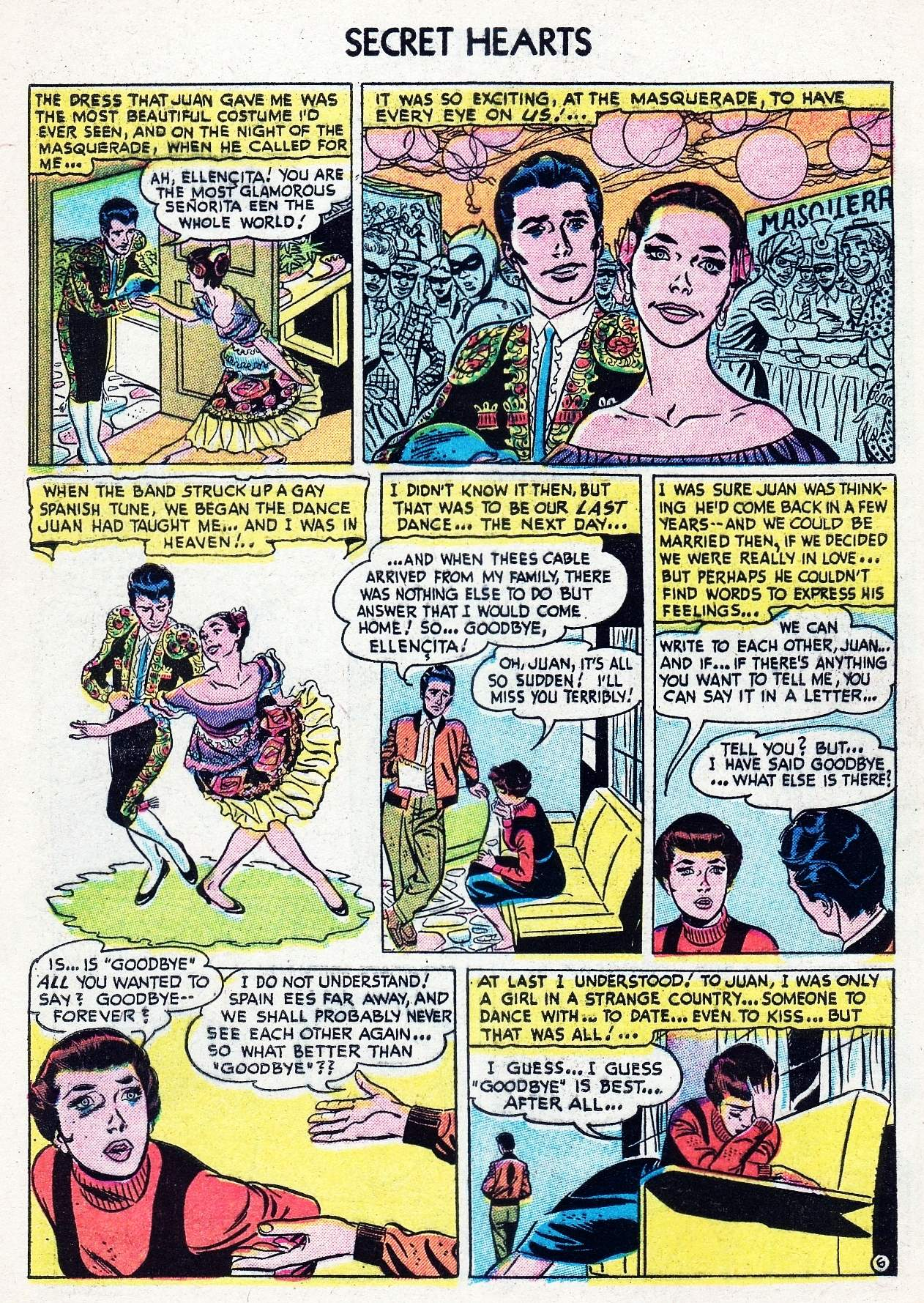 Read online Secret Hearts comic -  Issue #29 - 8