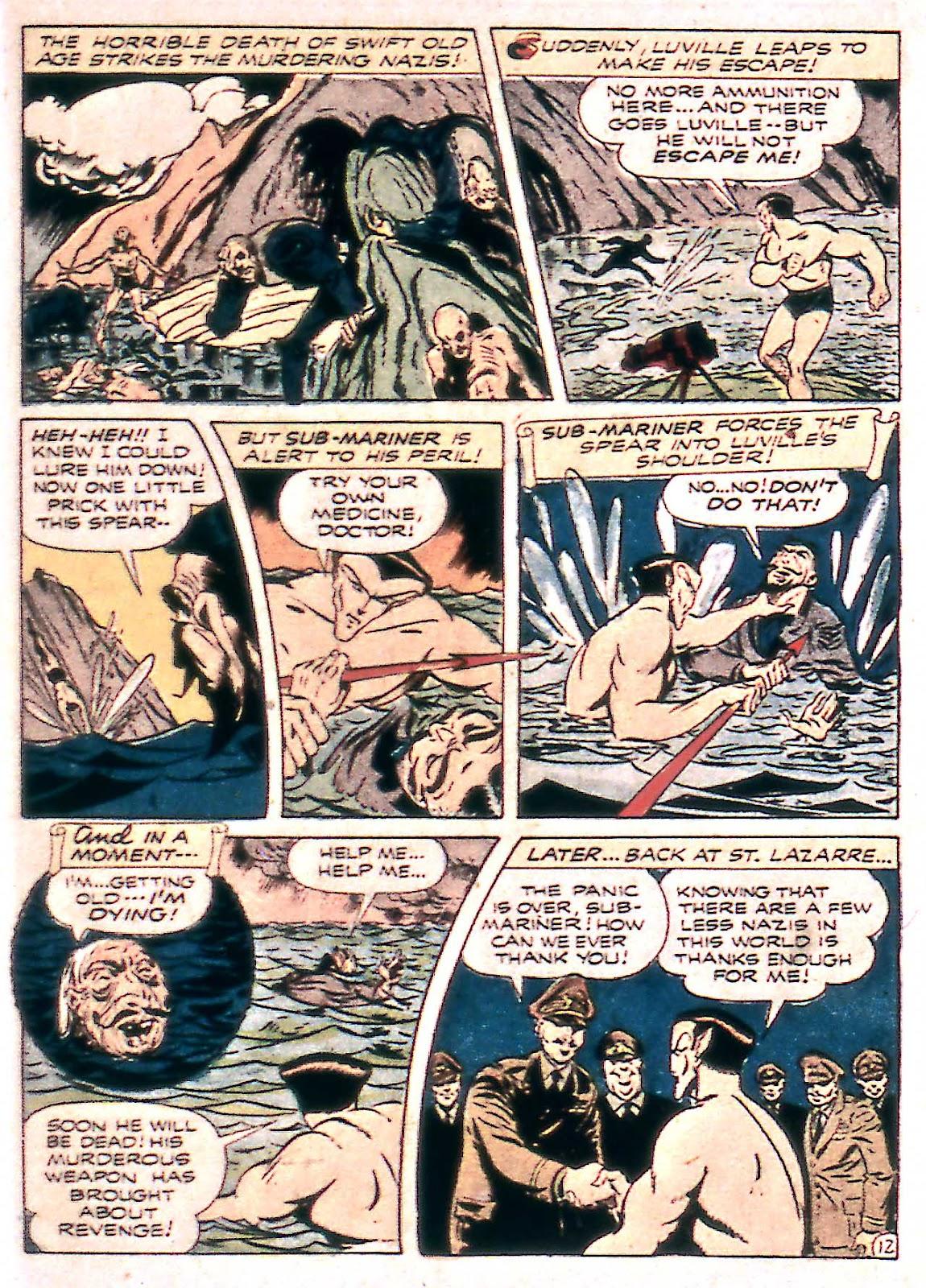 Sub-Mariner Comics Issue #14 #14 - English 27