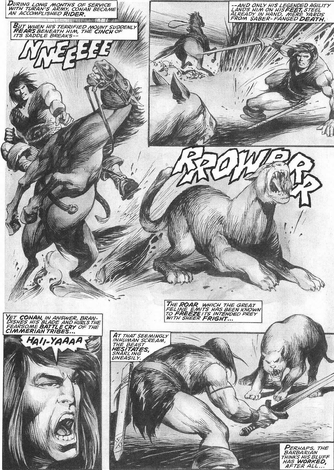 The Savage Sword Of Conan Issue #207 #208 - English 13