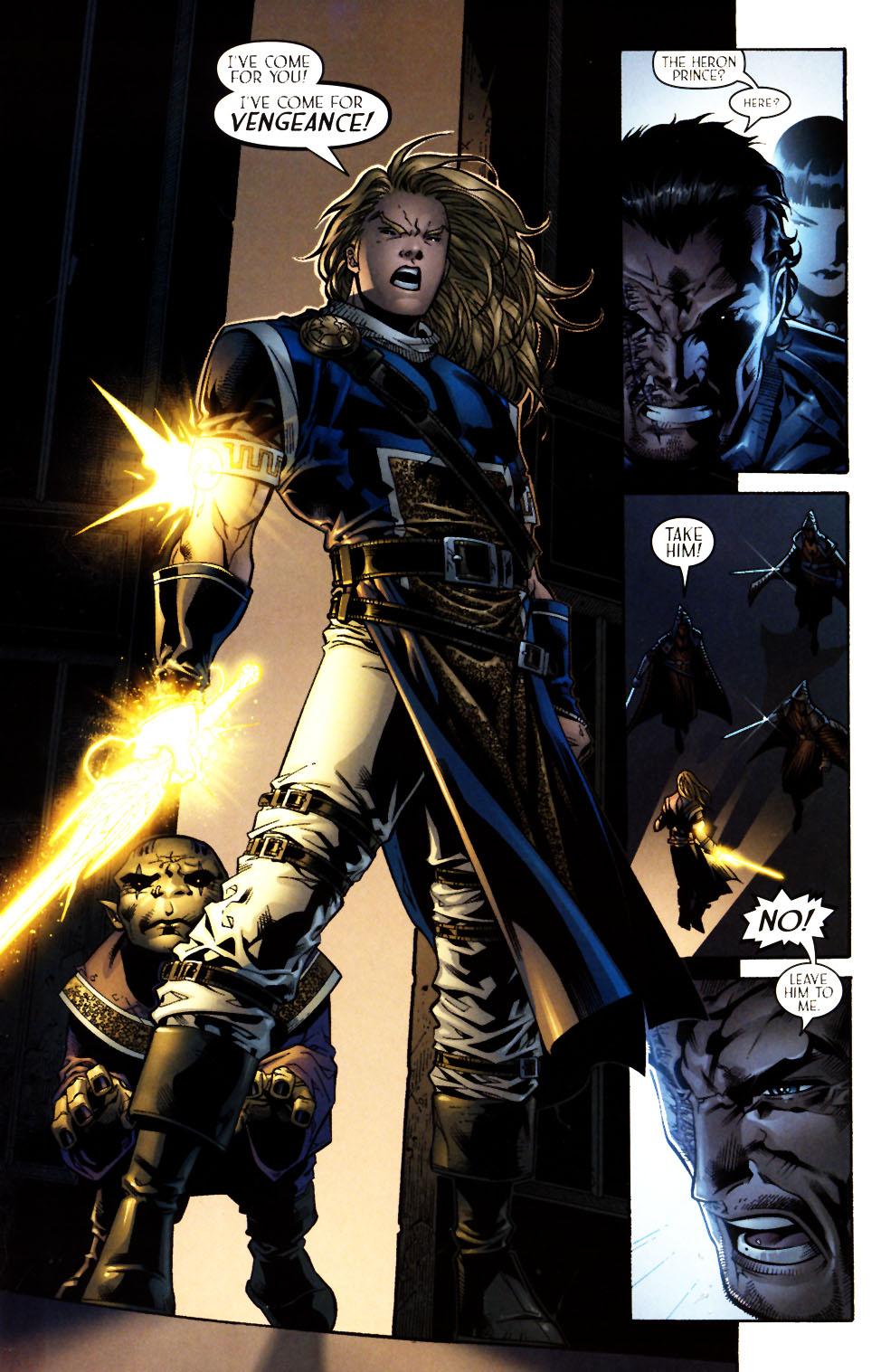 Read online Scion comic -  Issue #13 - 15