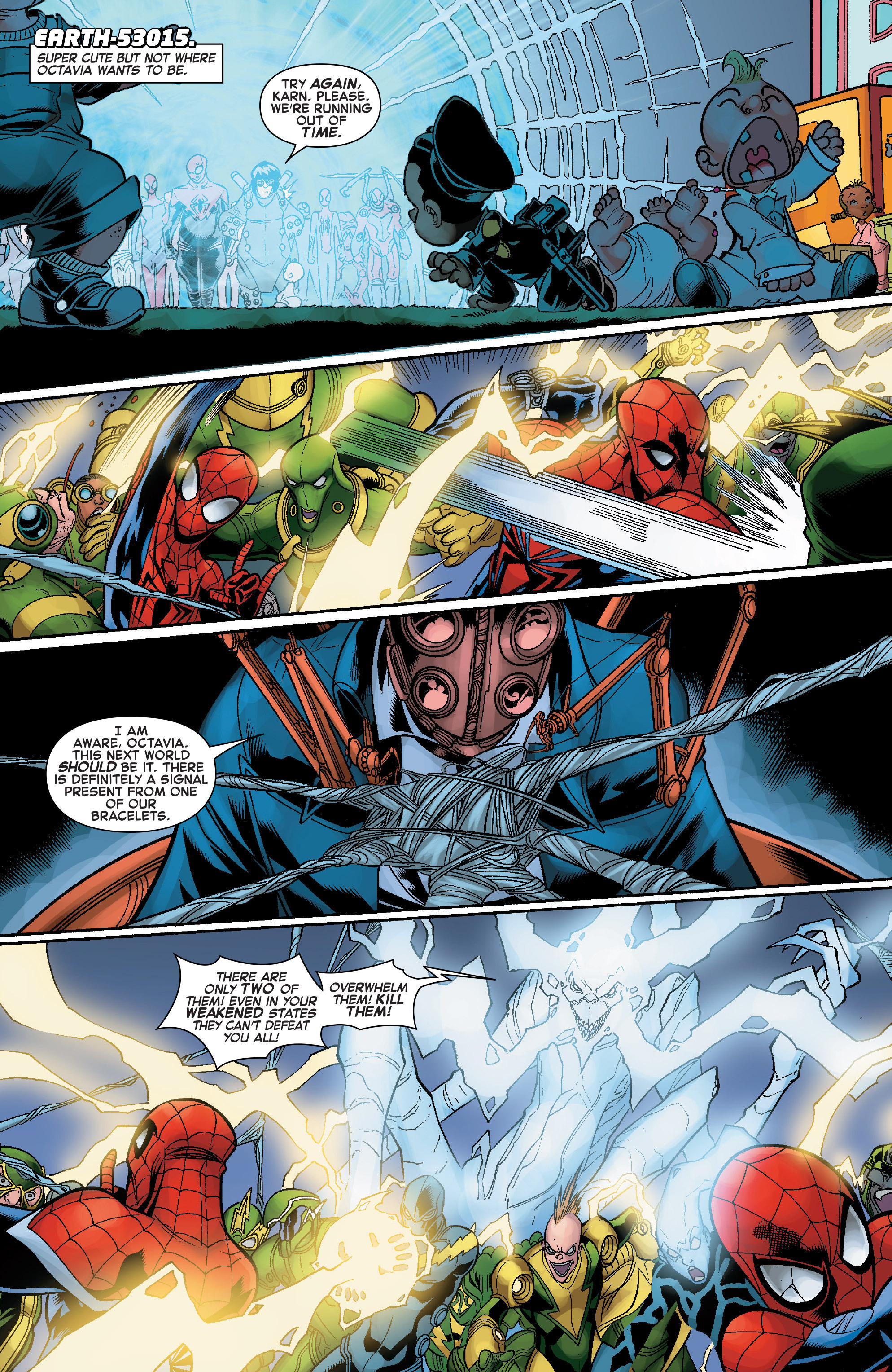 Read online Web Warriors comic -  Issue #10 - 15