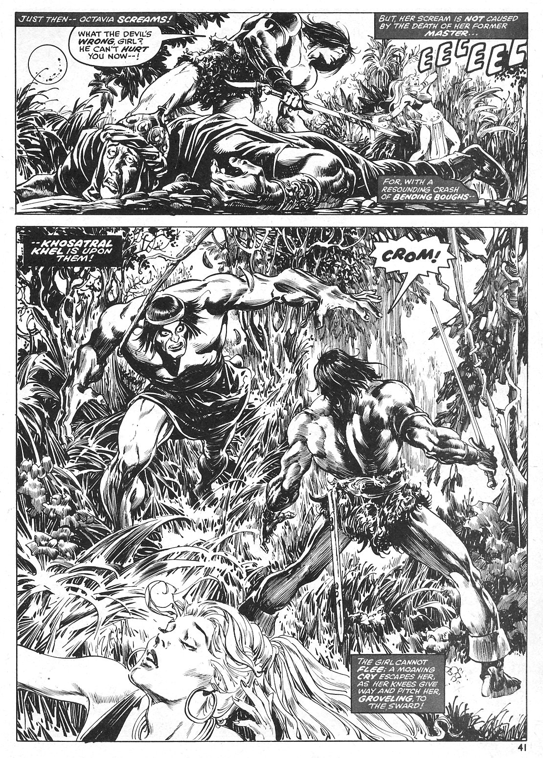 The Savage Sword Of Conan Issue #15 #16 - English 41
