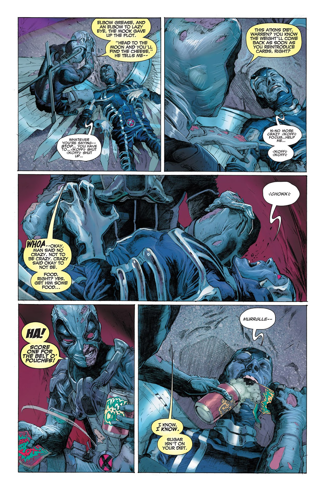 Uncanny X-Force (2010) Issue #3 #3 - English 15