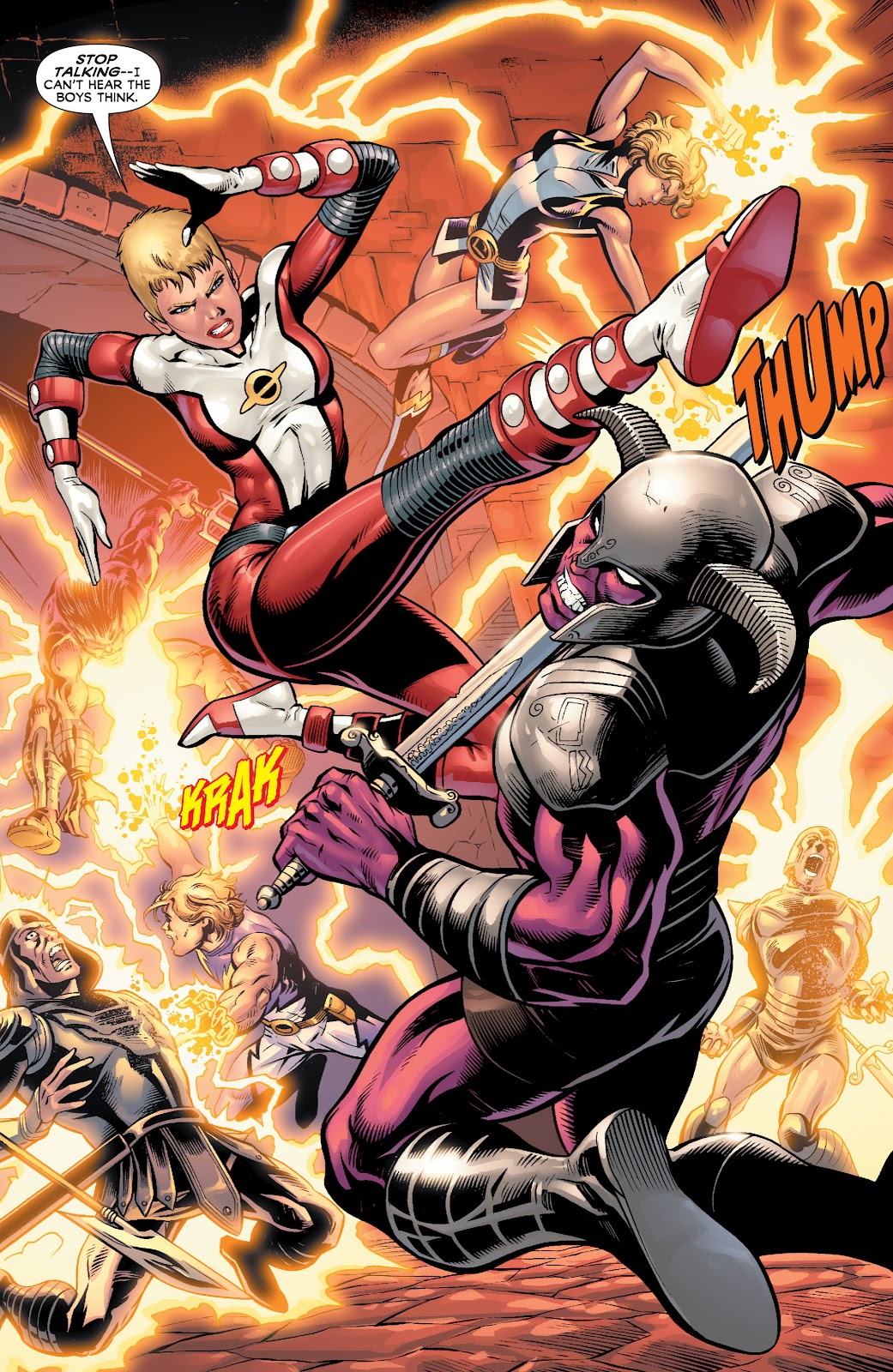 Legion of Super-Heroes (2010) Issue #4 #5 - English 13