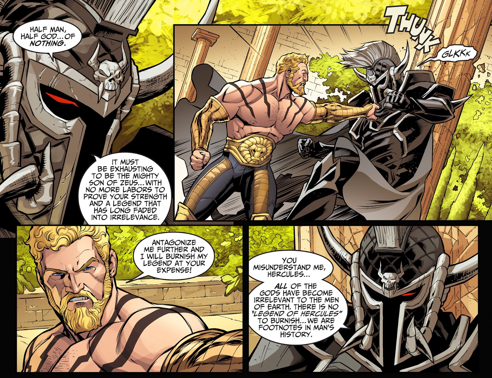 Injustice: Gods Among Us Year Four Issue #1 #2 - English 5