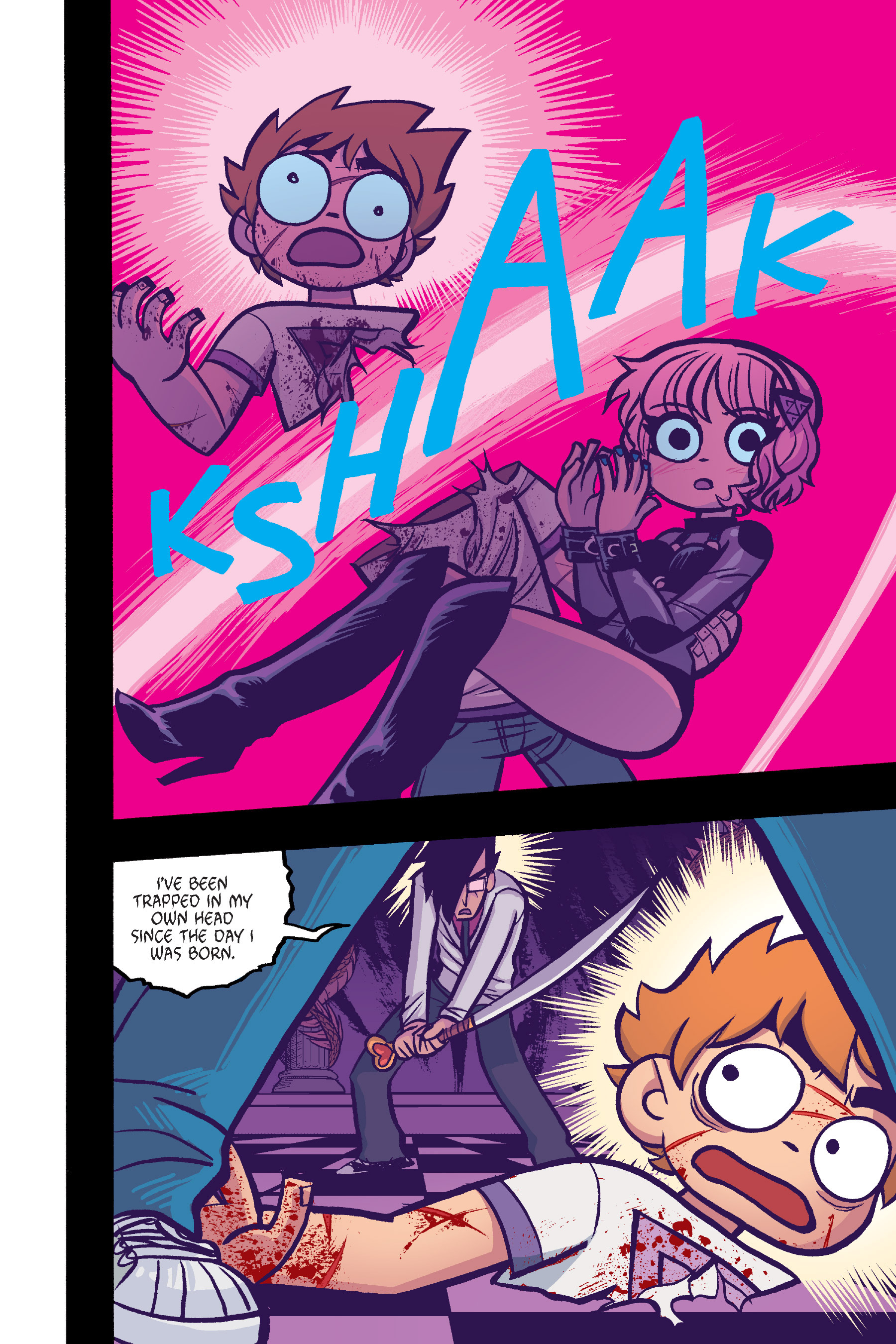 Read online Scott Pilgrim comic -  Issue #6 - 178