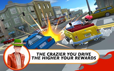 Crazy Taxi City Rush v1.01 Apk Data Mod Money