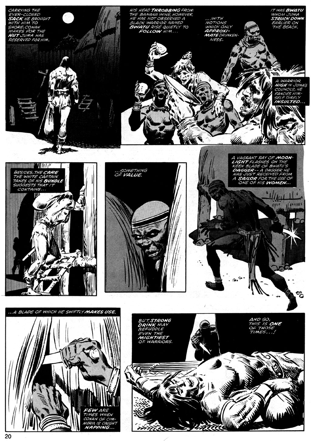 The Savage Sword Of Conan Issue #41 #42 - English 20