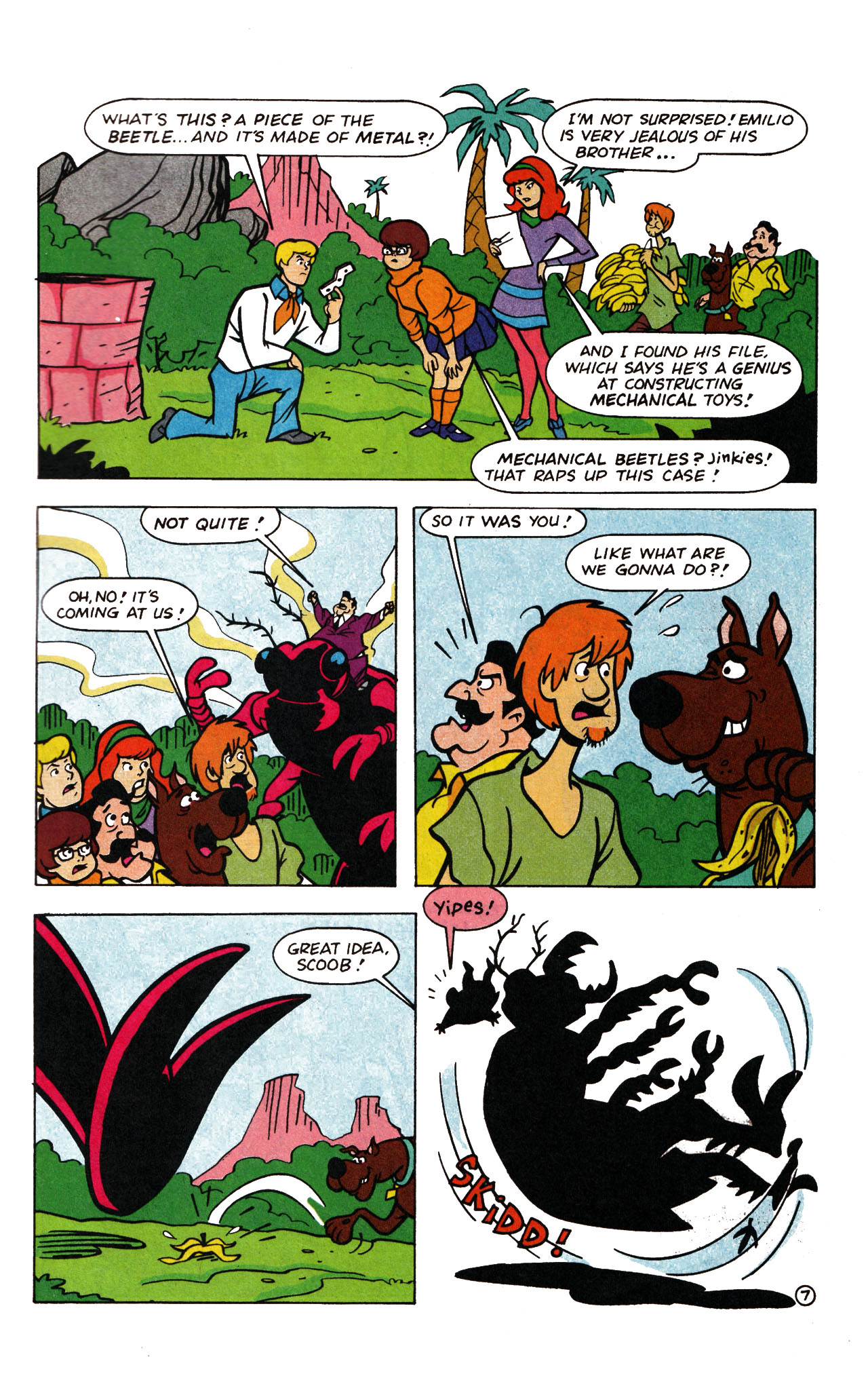 Read online Scooby-Doo (1995) comic -  Issue #13 - 32