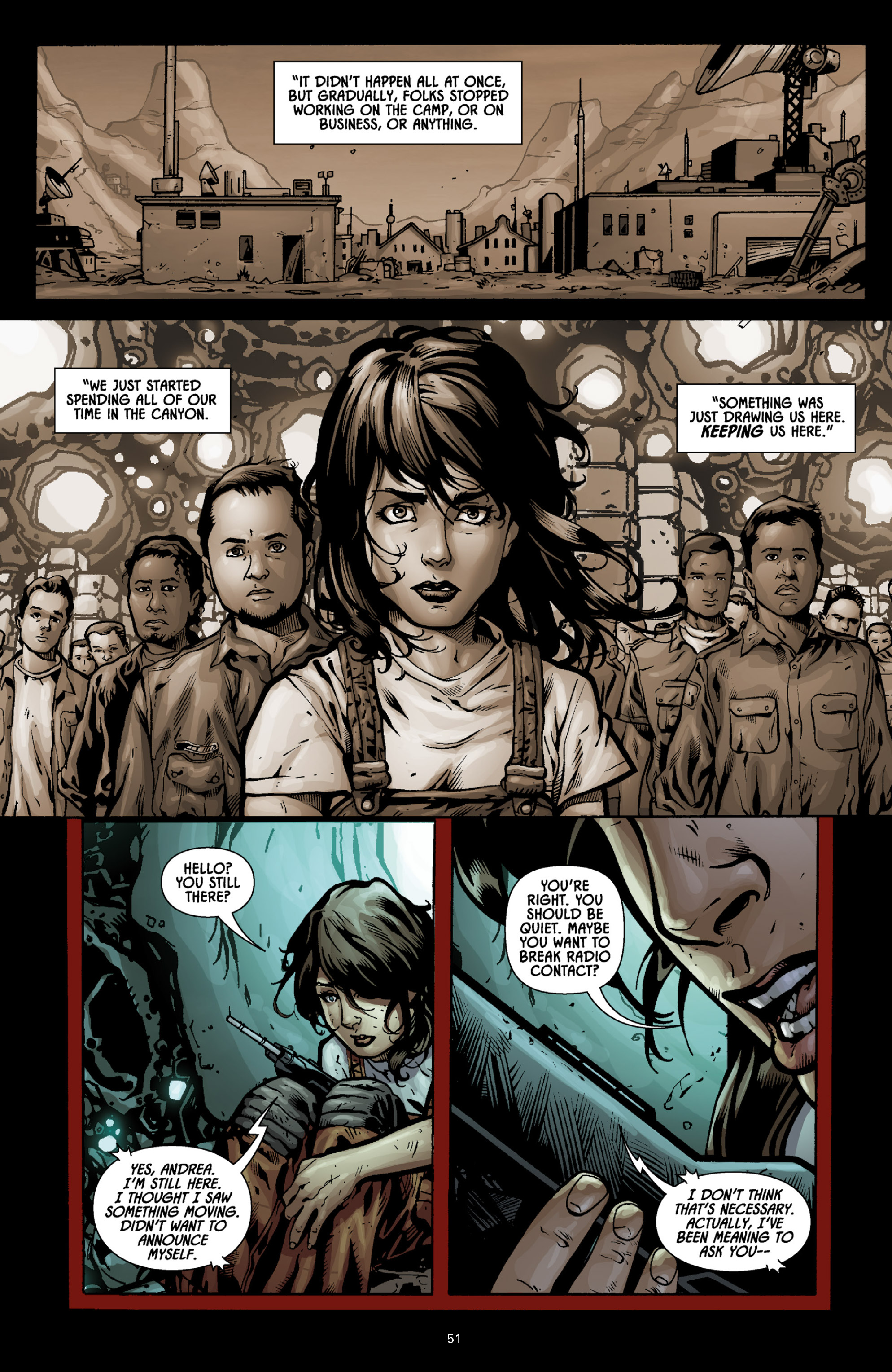 Aliens (2009) TPB Page 46
