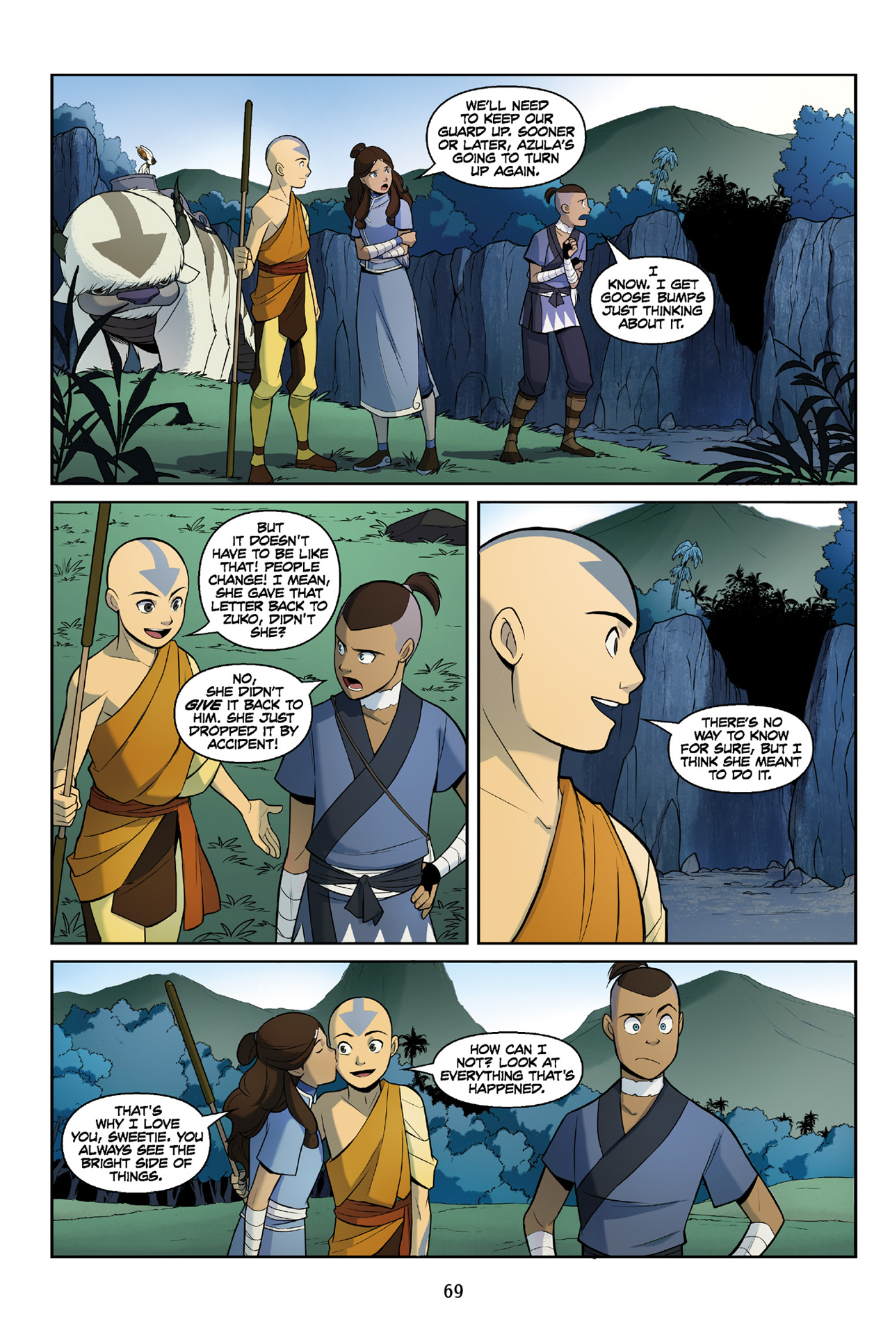 Read online Nickelodeon Avatar: The Last Airbender - The Search comic -  Issue # Part 3 - 69