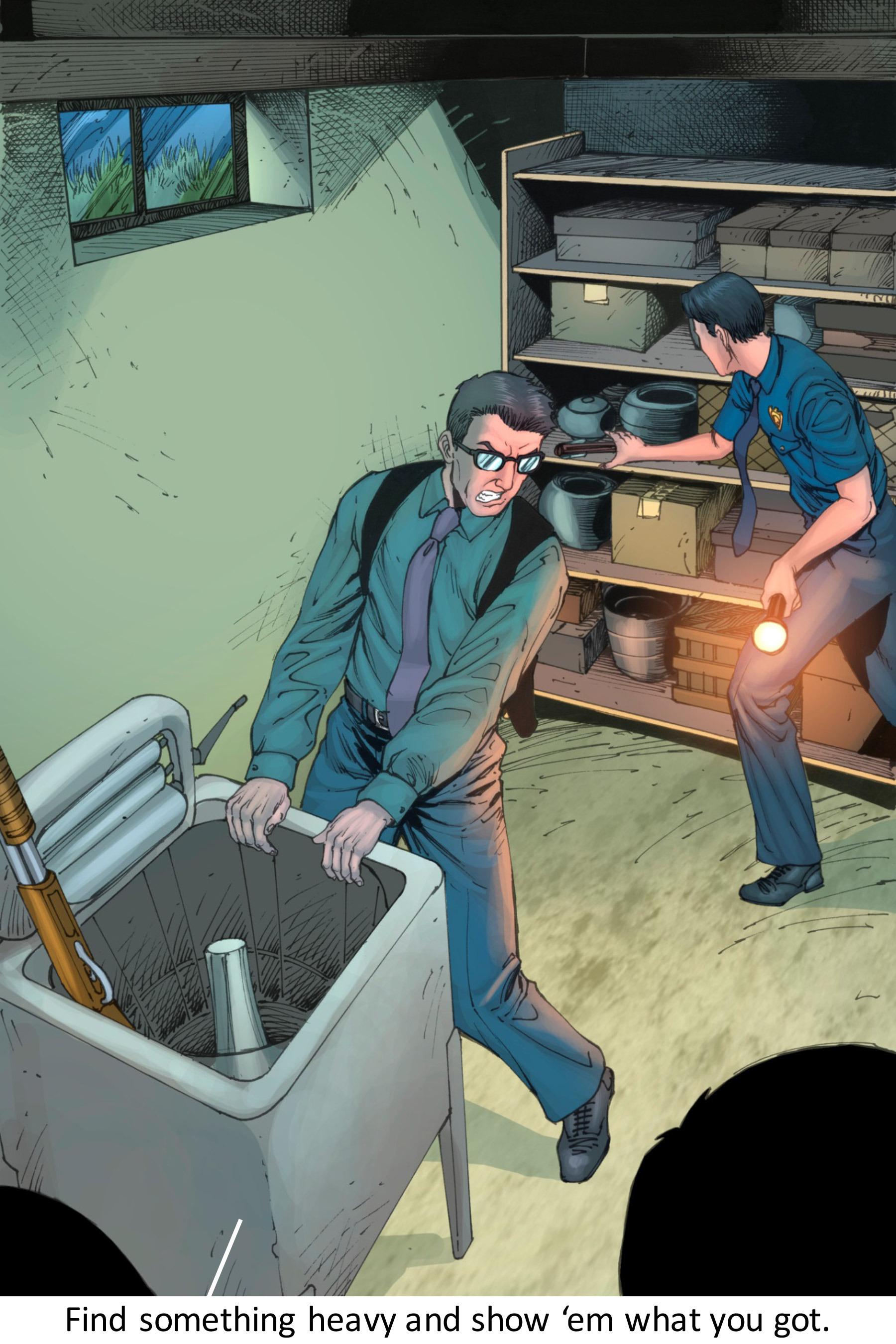 Read online Z-Men comic -  Issue #3 - 105