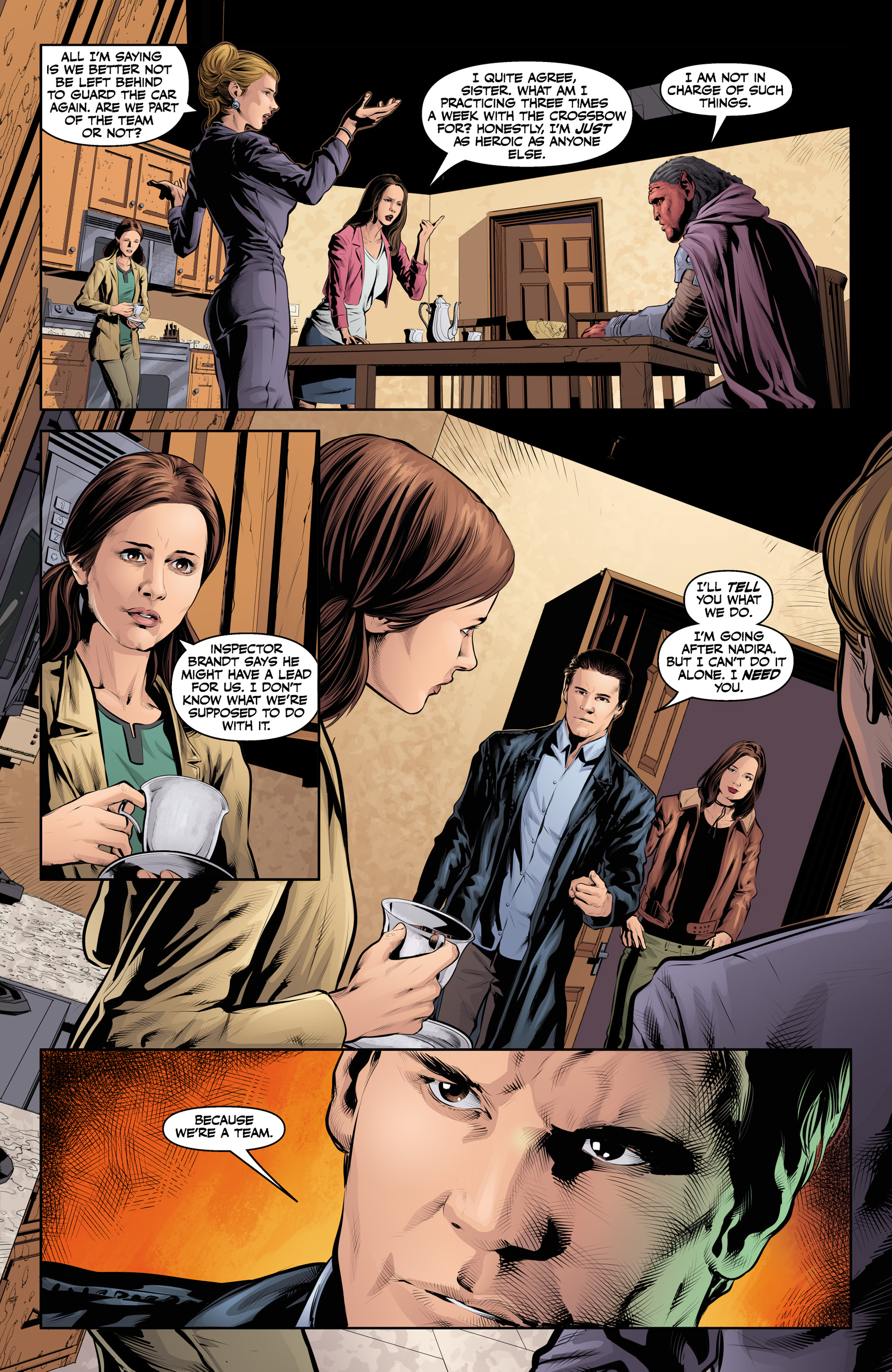 Read online Angel & Faith Season 10 comic -  Issue #21 - 14