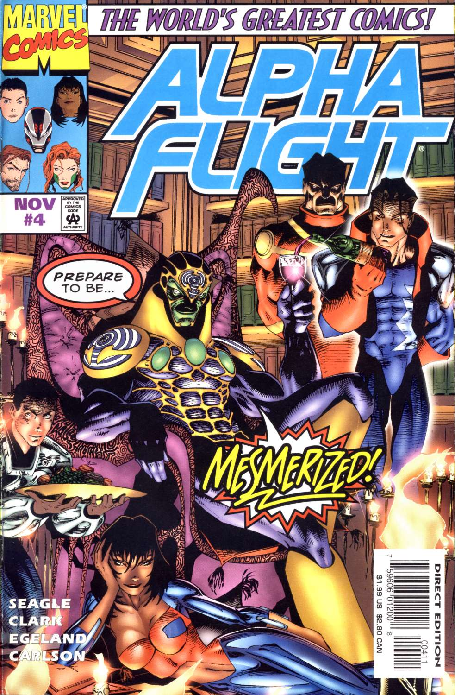 Alpha Flight (1997) 4 Page 1