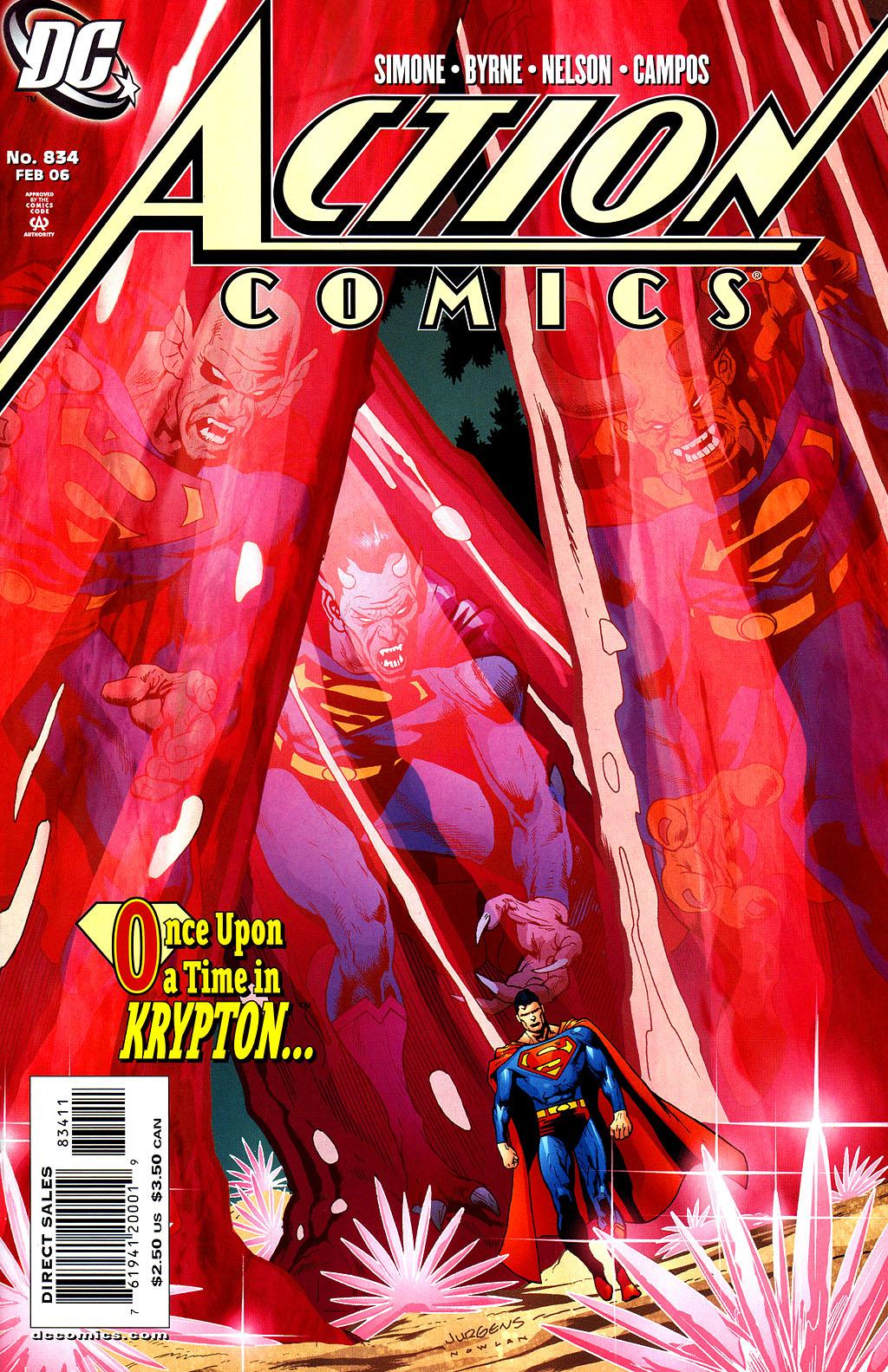 Action Comics (1938) 834 Page 1