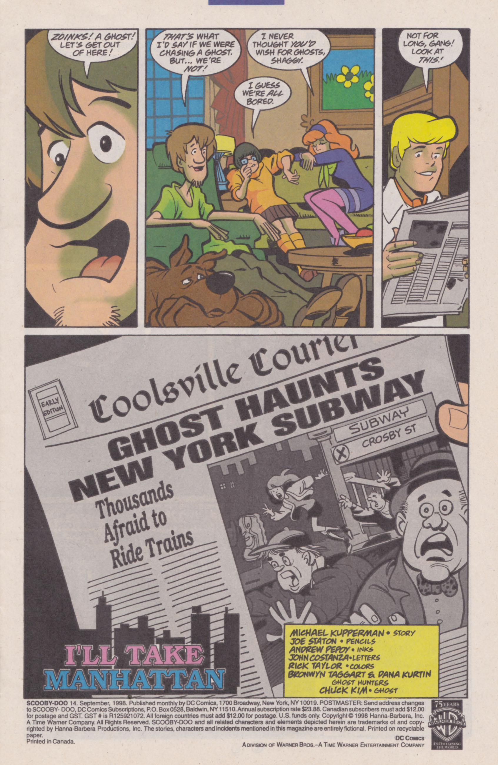Read online Scooby-Doo (1997) comic -  Issue #14 - 2