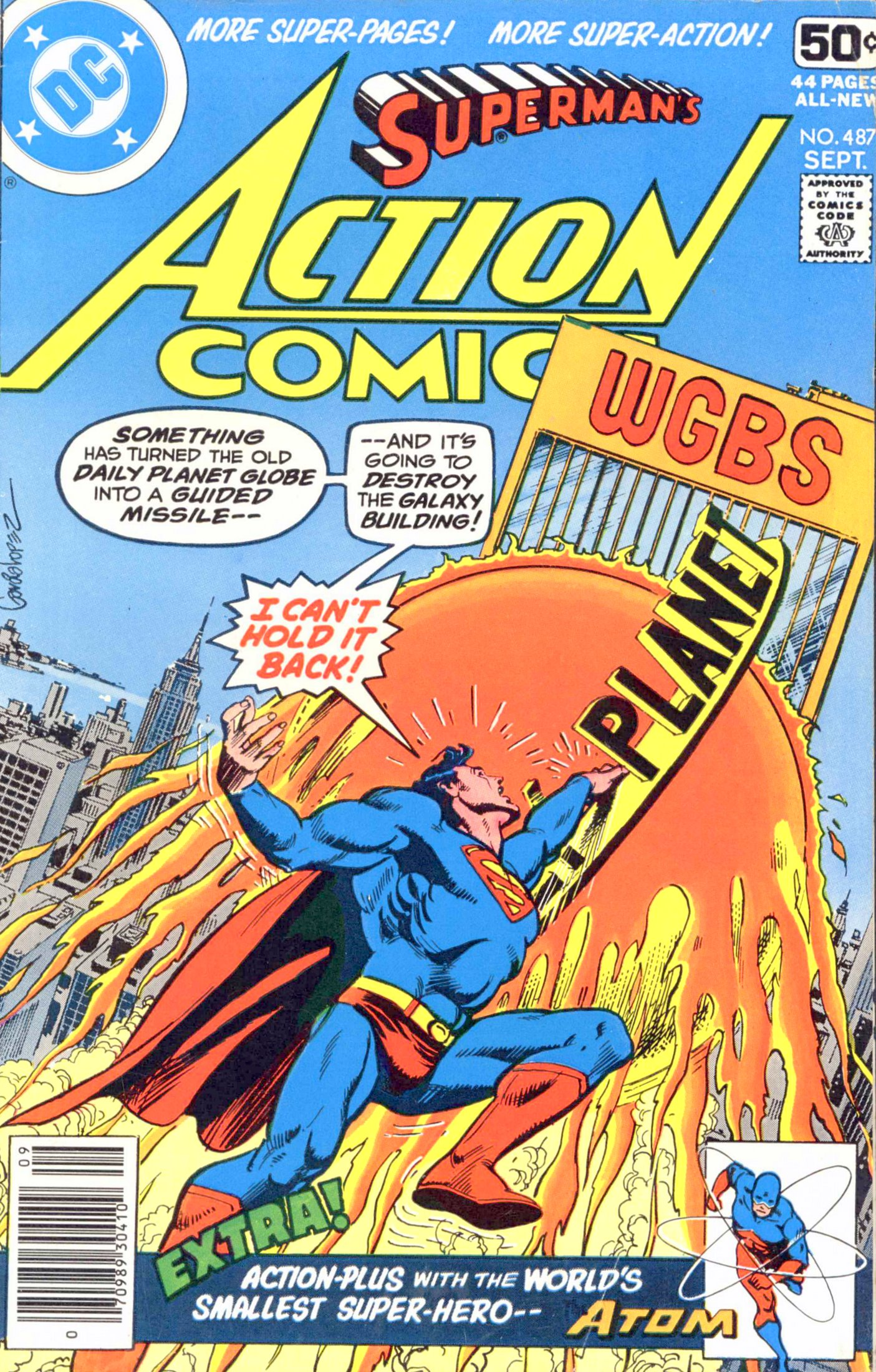 Action Comics (1938) 487 Page 1
