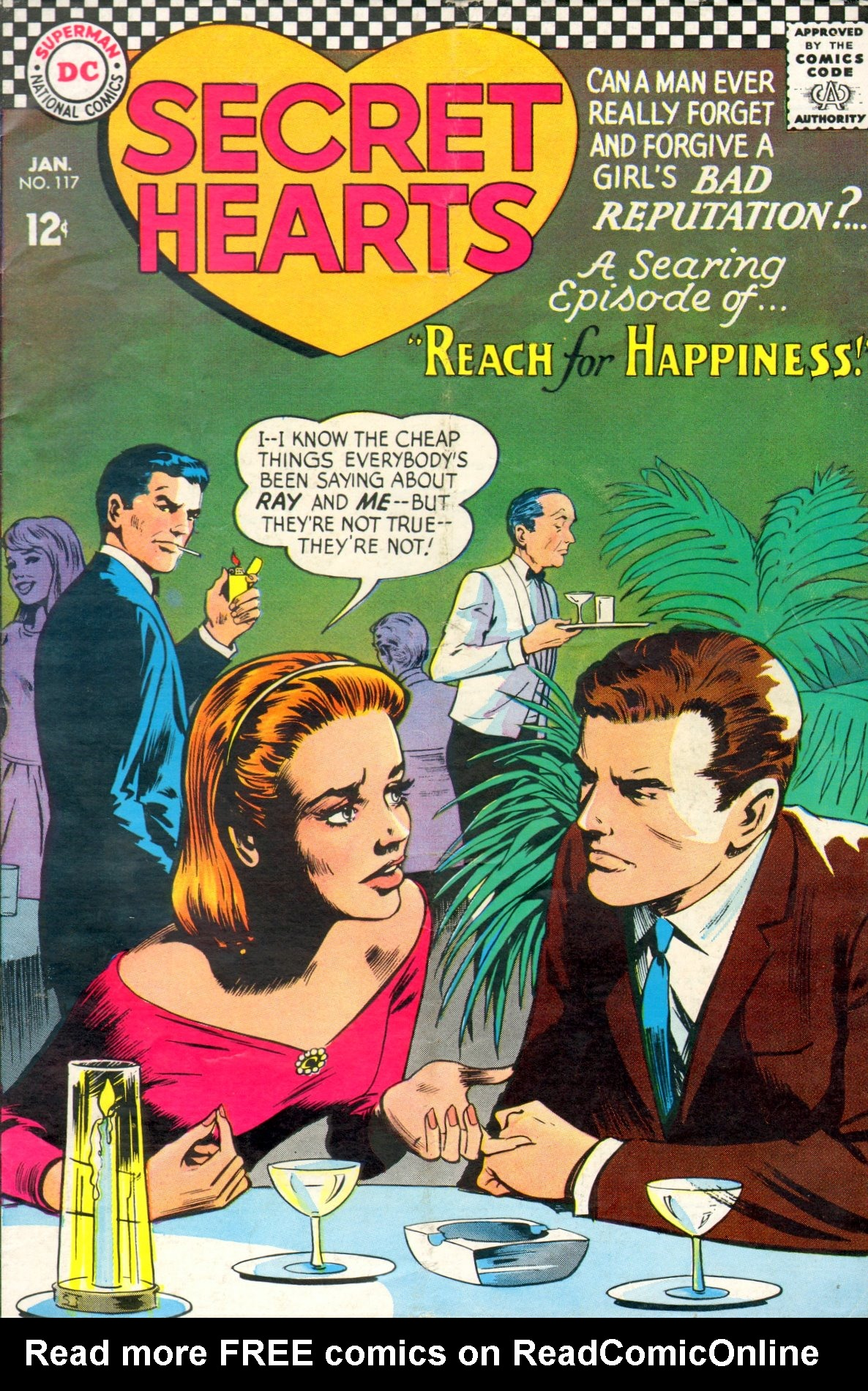 Read online Secret Hearts comic -  Issue #117 - 1