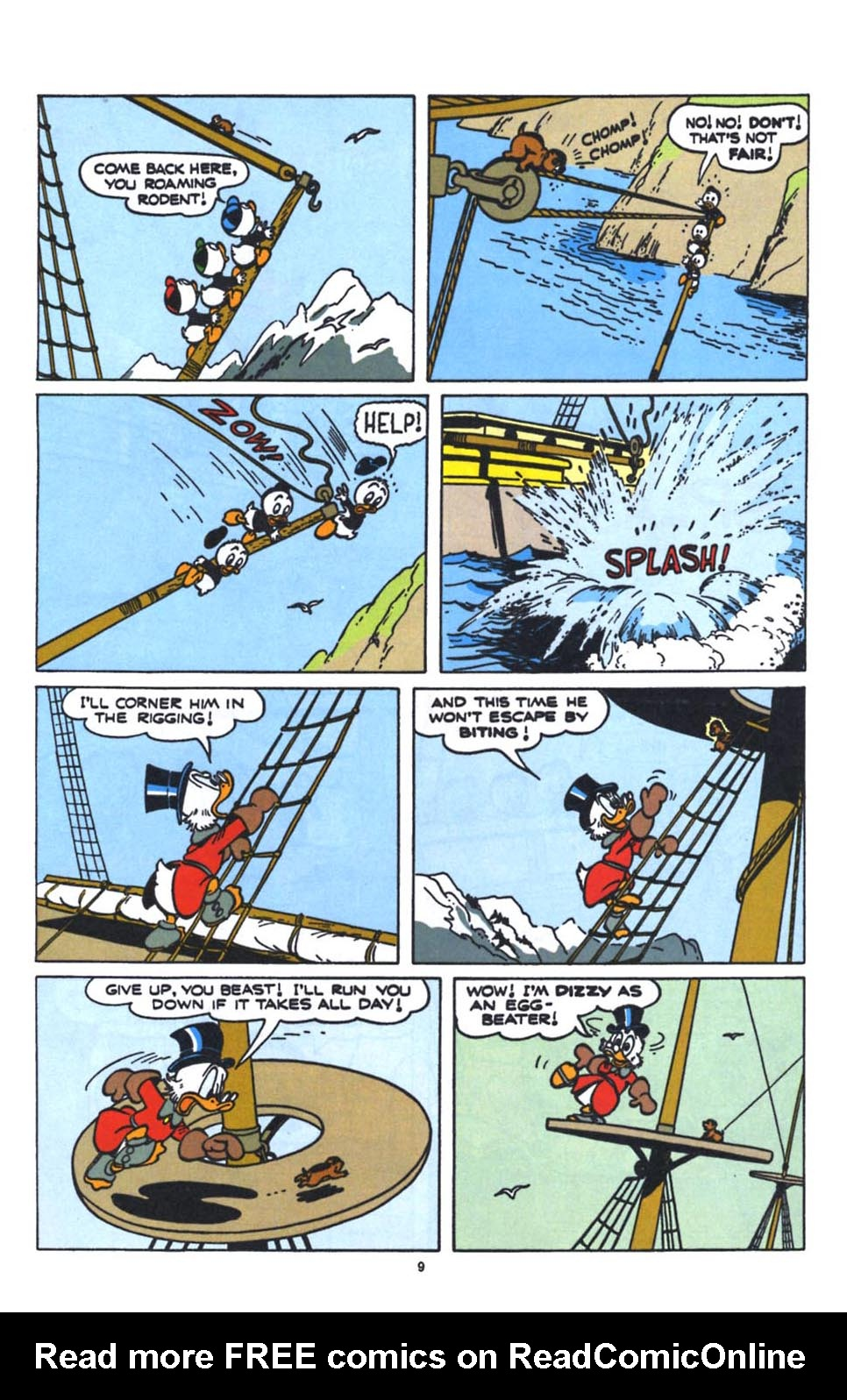 Uncle Scrooge (1953) Issue #250 #250 - English 11