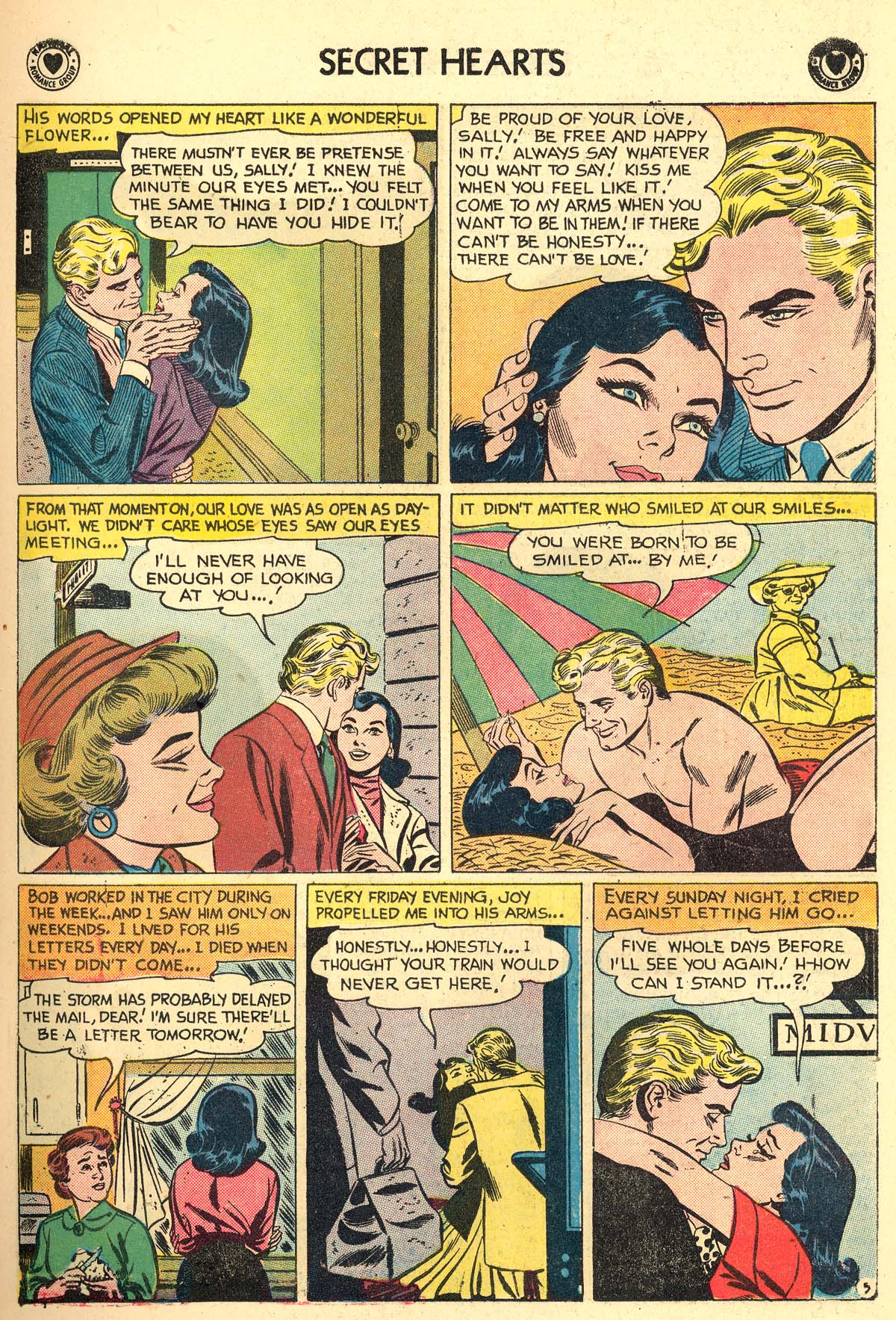 Read online Secret Hearts comic -  Issue #59 - 7