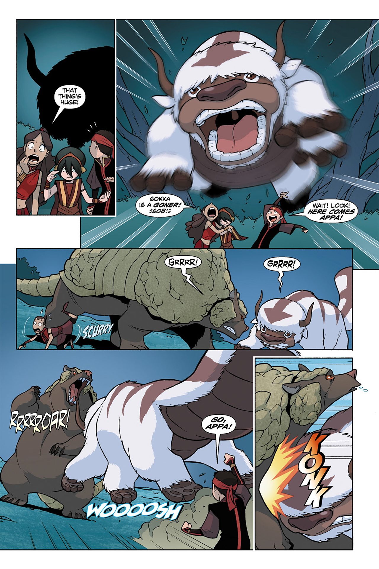 Nickelodeon Avatar: The Last Airbender - The Lost Adventures chap full pic 161