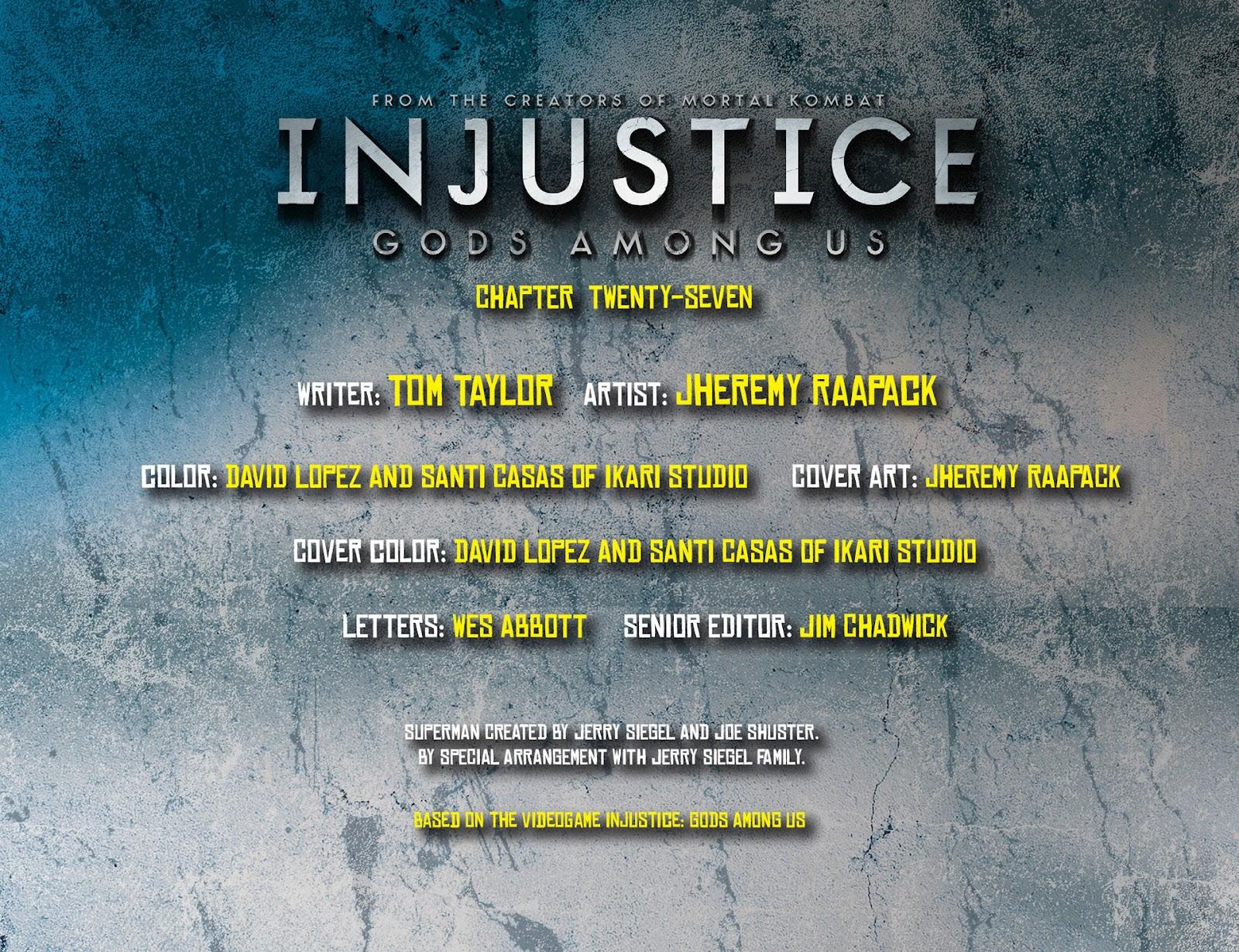 Injustice: Gods Among Us [I] Issue #27 #28 - English 2