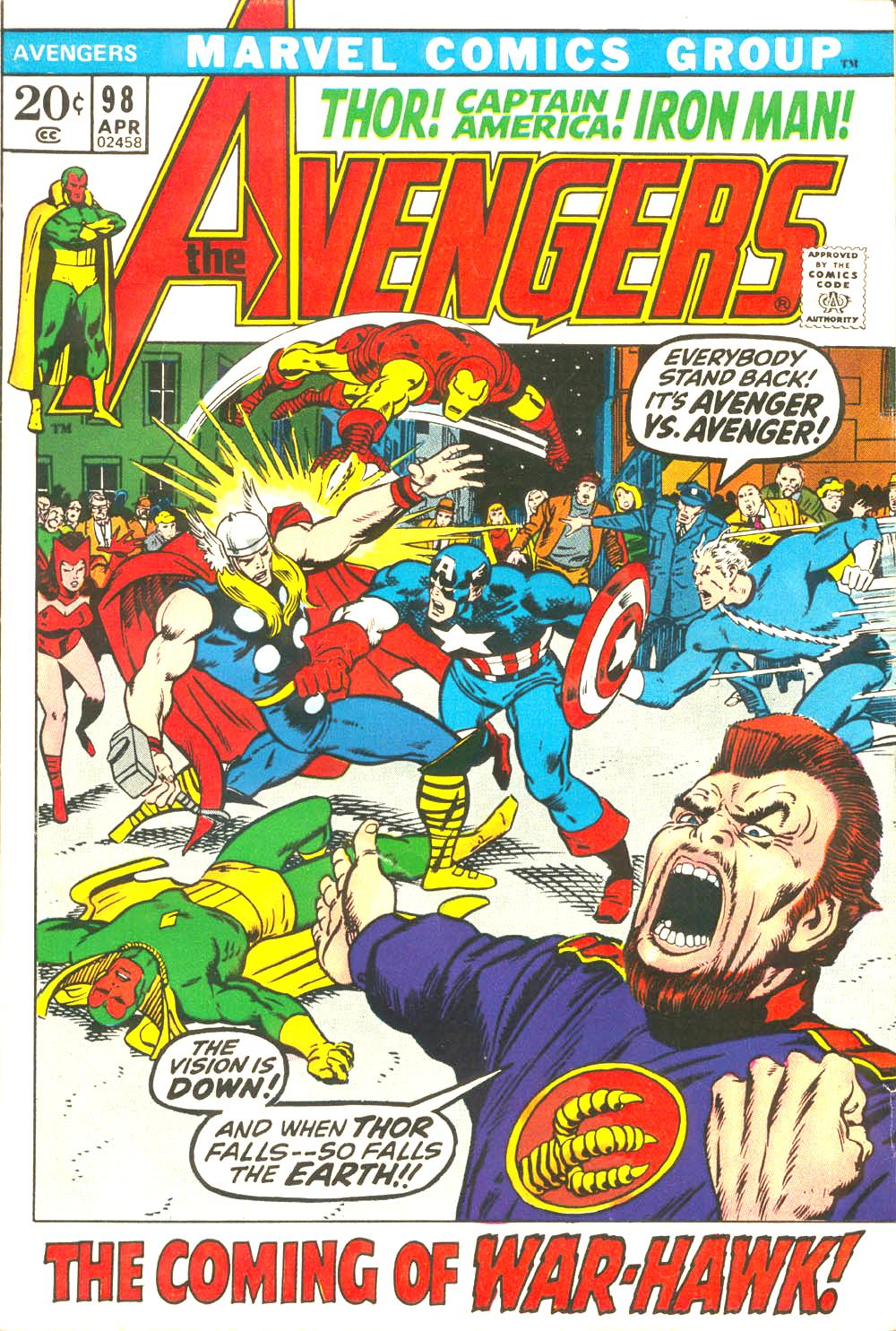 The Avengers (1963) 98 Page 1