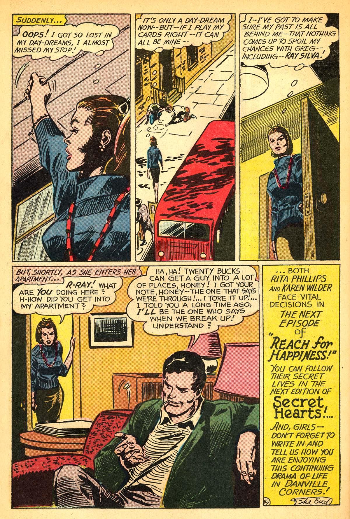 Read online Secret Hearts comic -  Issue #111 - 34