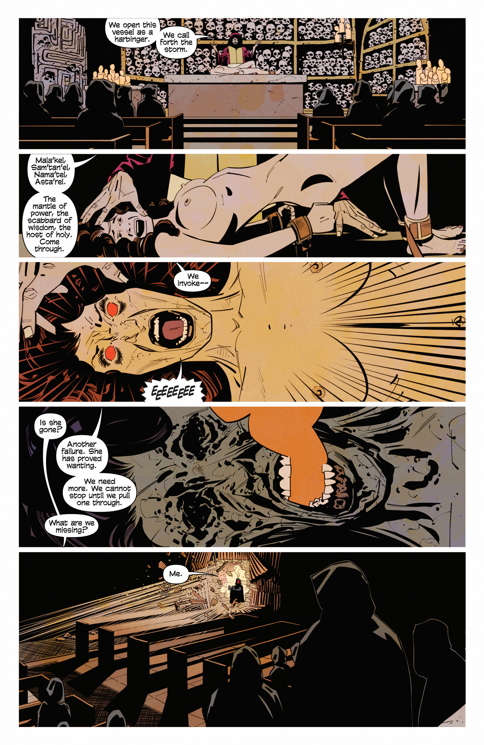 Read online Demonic comic -  Issue #5 - 21