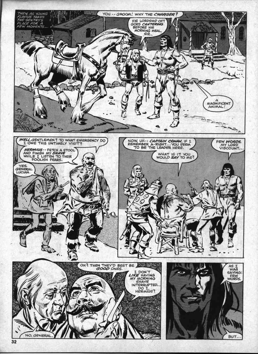 The Savage Sword Of Conan Issue #46 #47 - English 31