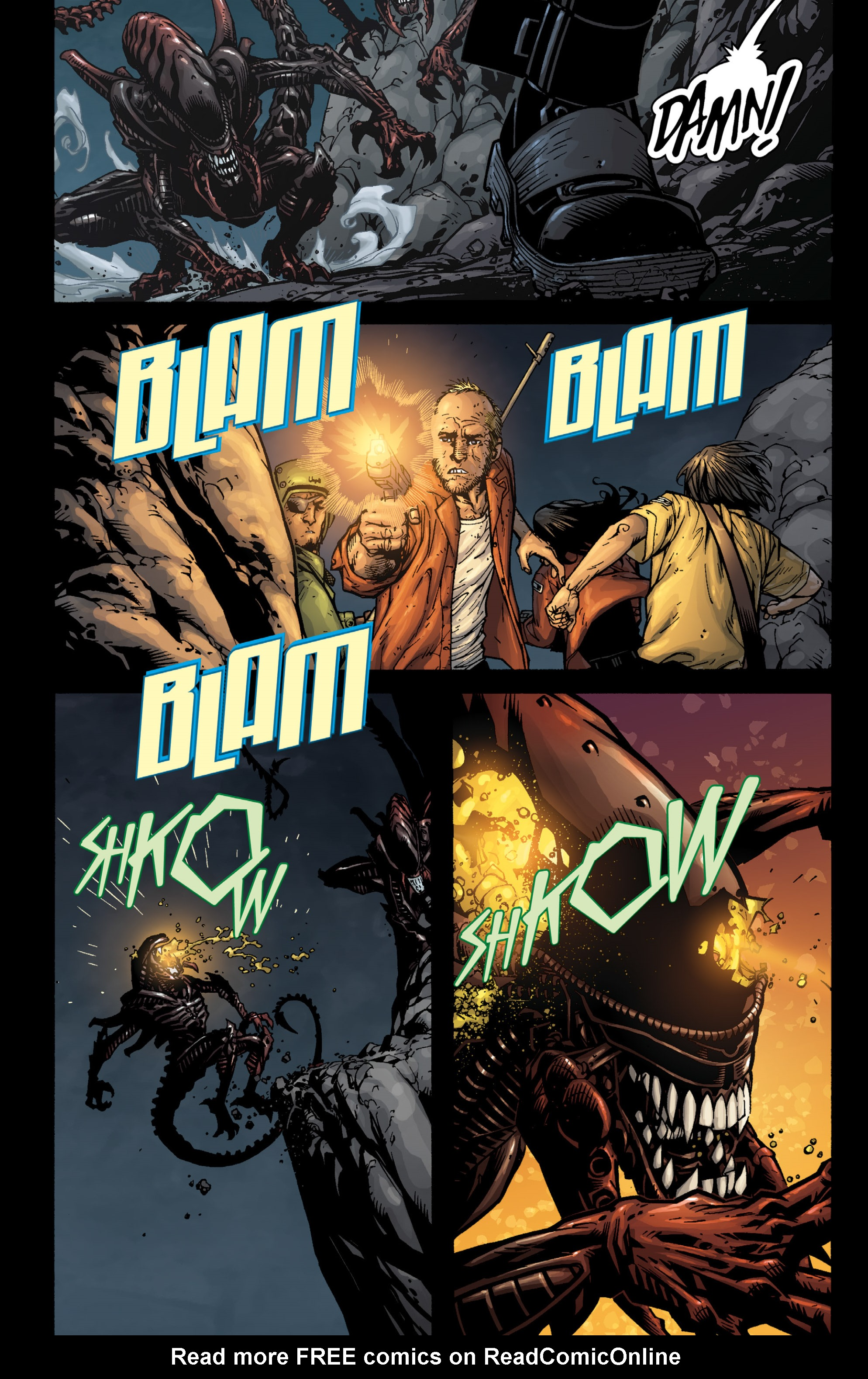 Aliens (2009) TPB Page 85