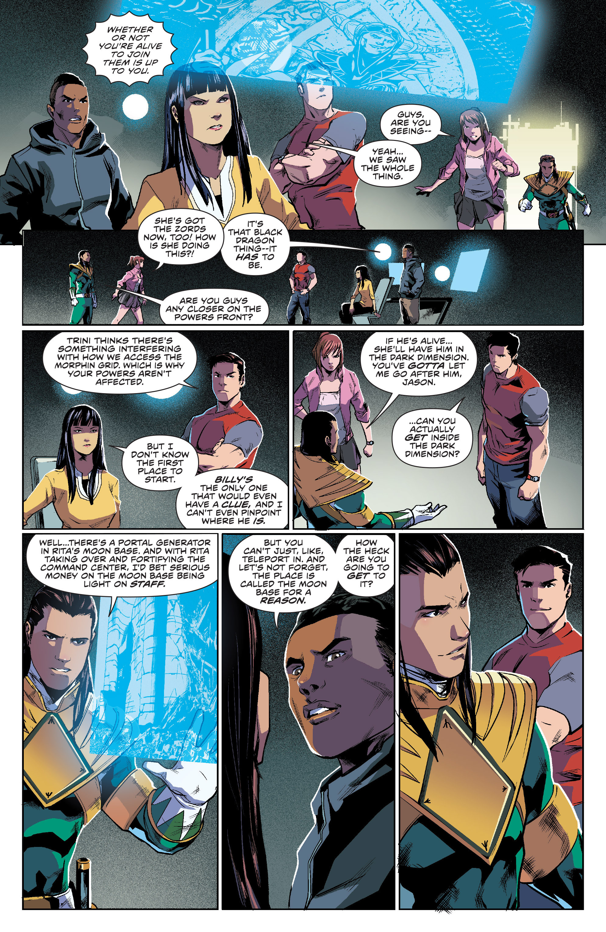 Read online Mighty Morphin Power Rangers comic -  Issue #7 - 13