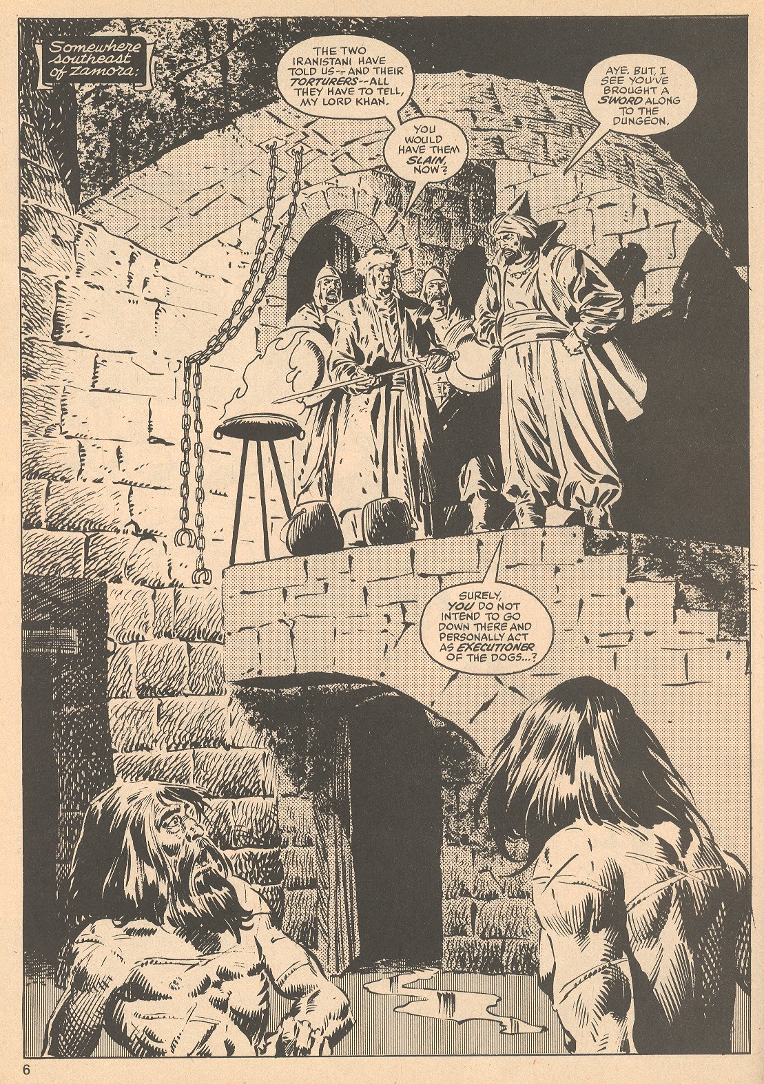 The Savage Sword Of Conan Issue #56 #57 - English 6
