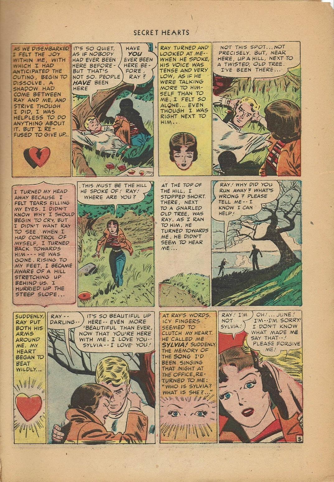 Read online Secret Hearts comic -  Issue #2 - 15