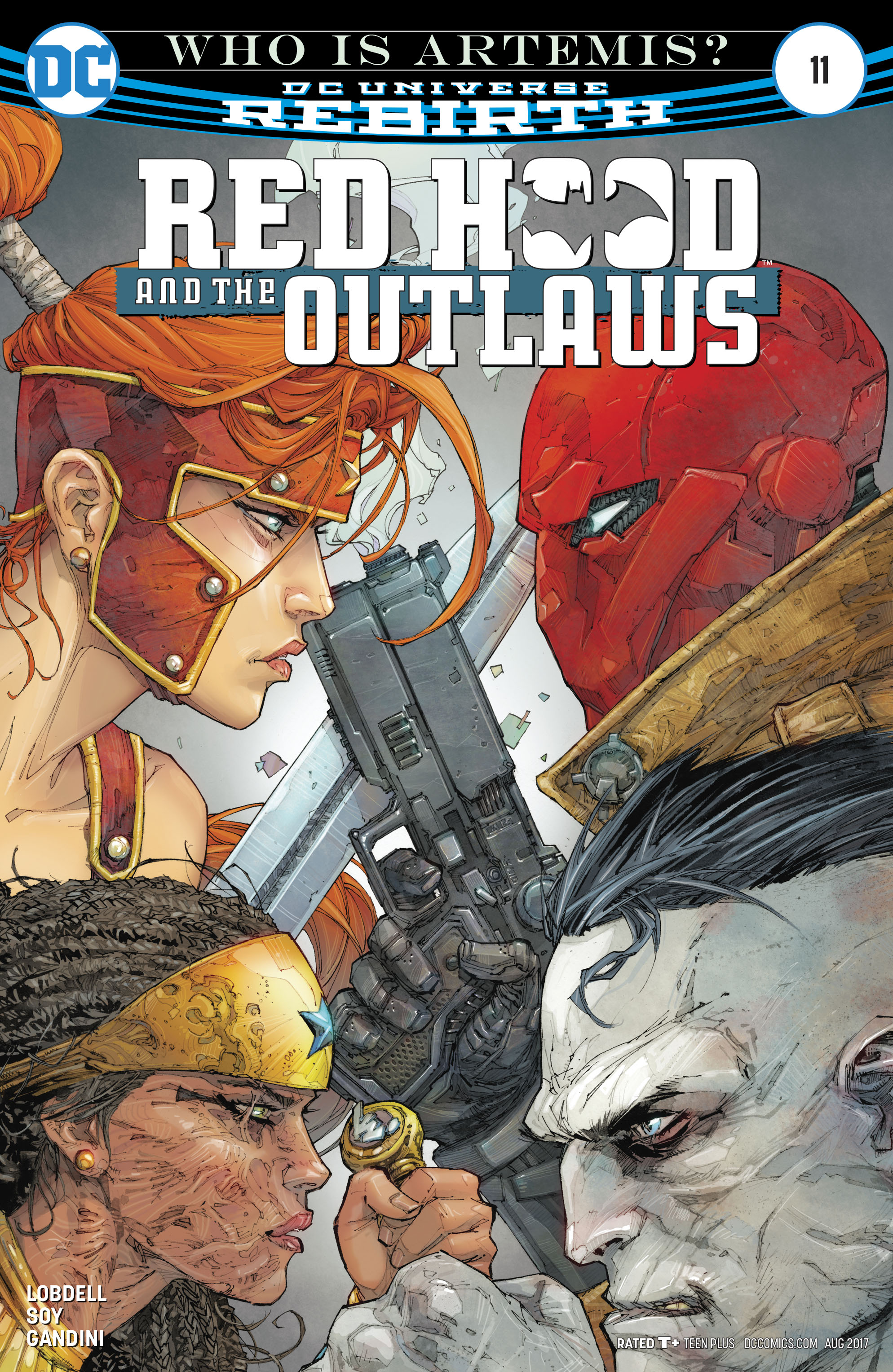 Red Hood and the Outlaws (2016) issue 11 - Page 1