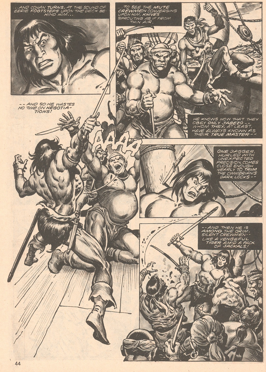 The Savage Sword Of Conan Issue #66 #67 - English 44
