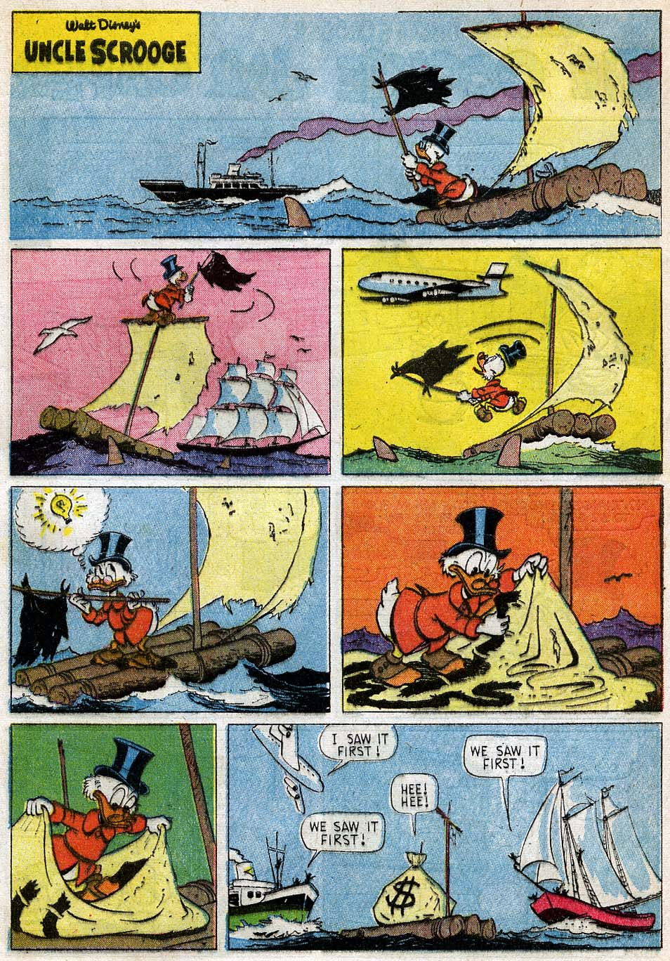 Uncle Scrooge (1953) Issue #54 #54 - English 28