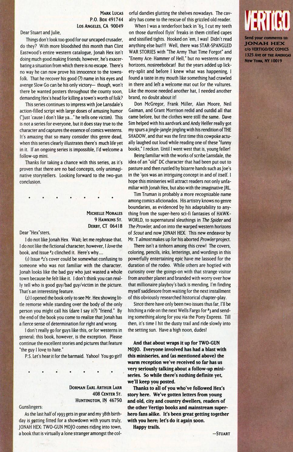 Jonah Hex: Two-Gun Mojo Issue #5 #5 - English 34