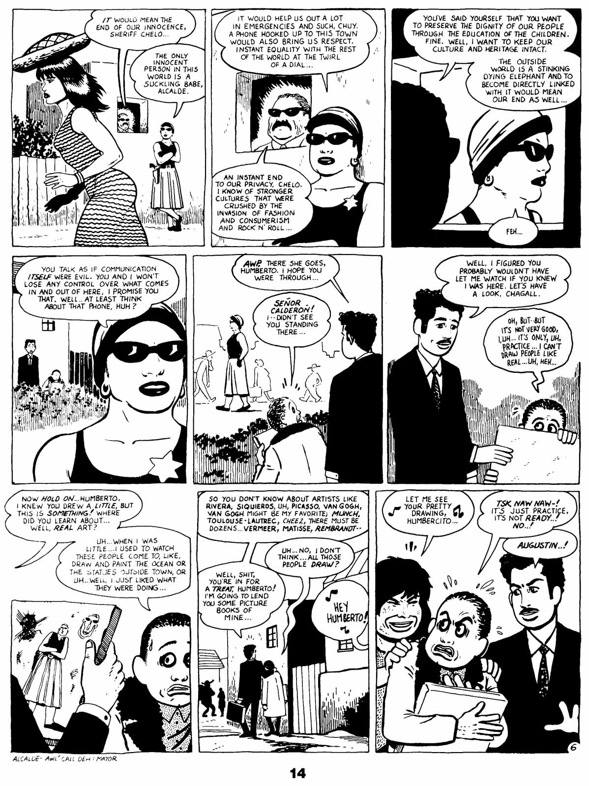 Love and Rockets (1982) Issue #21 #20 - English 16