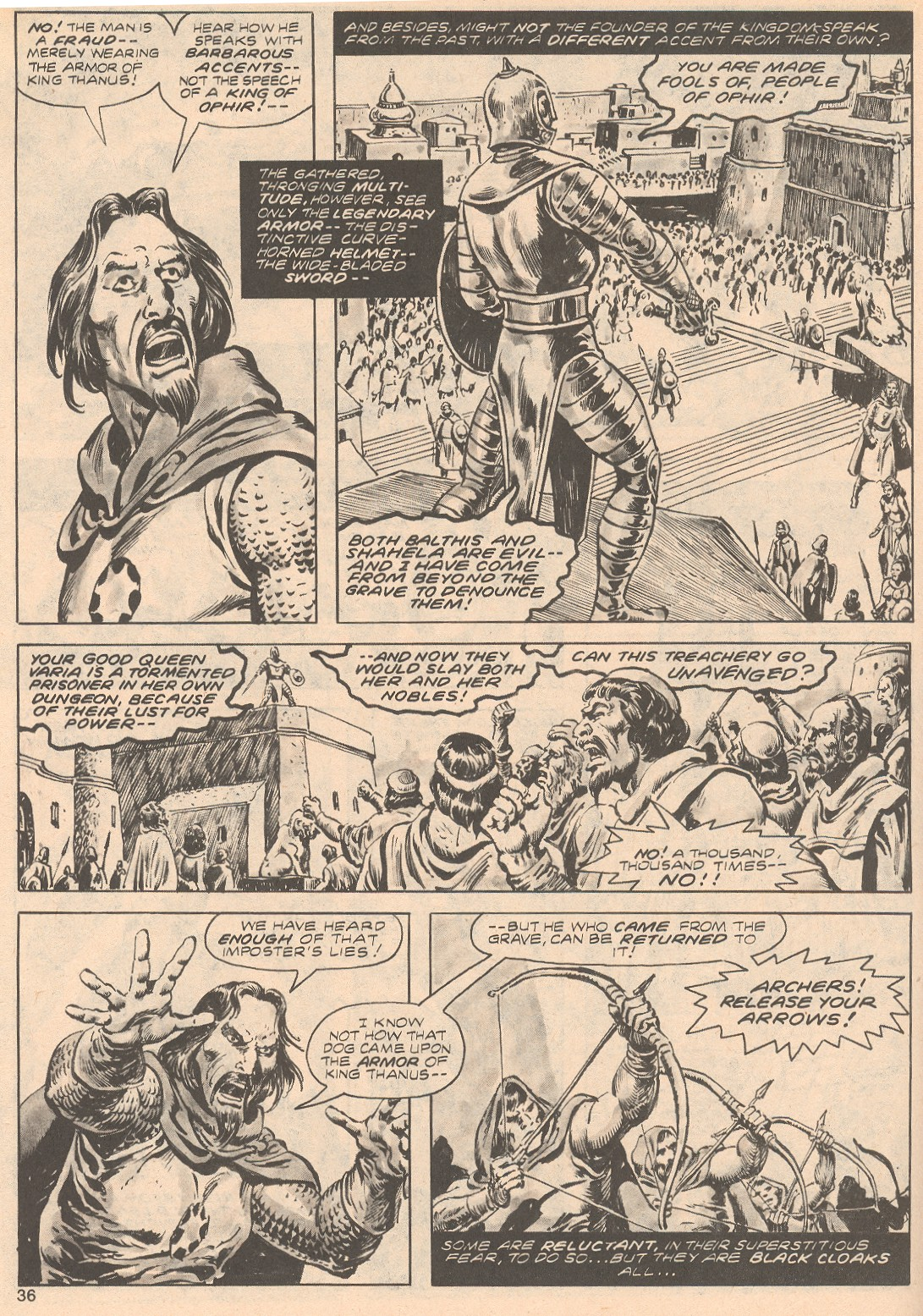 The Savage Sword Of Conan Issue #68 #69 - English 36