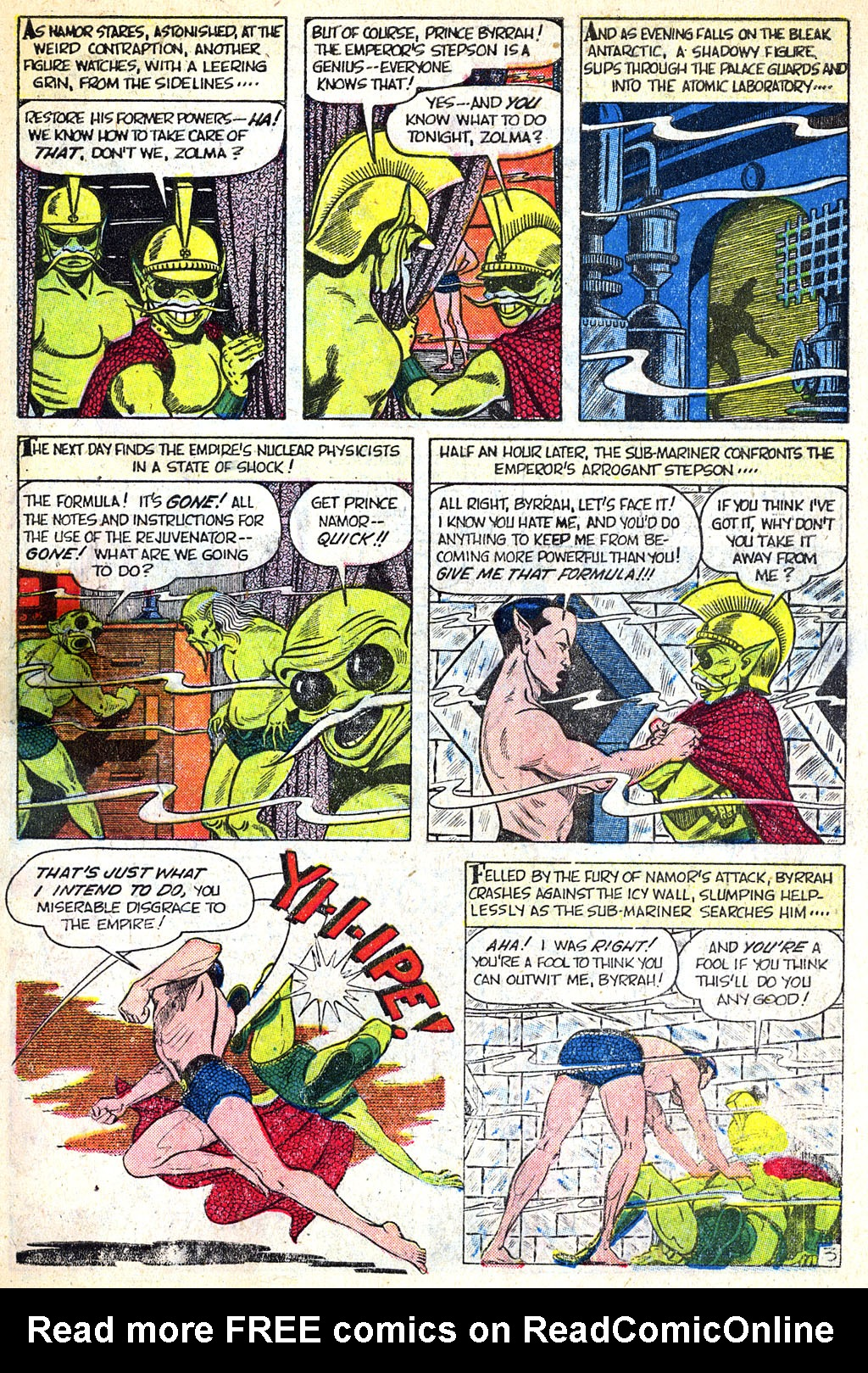 Sub-Mariner Comics #38 #38 - English 6