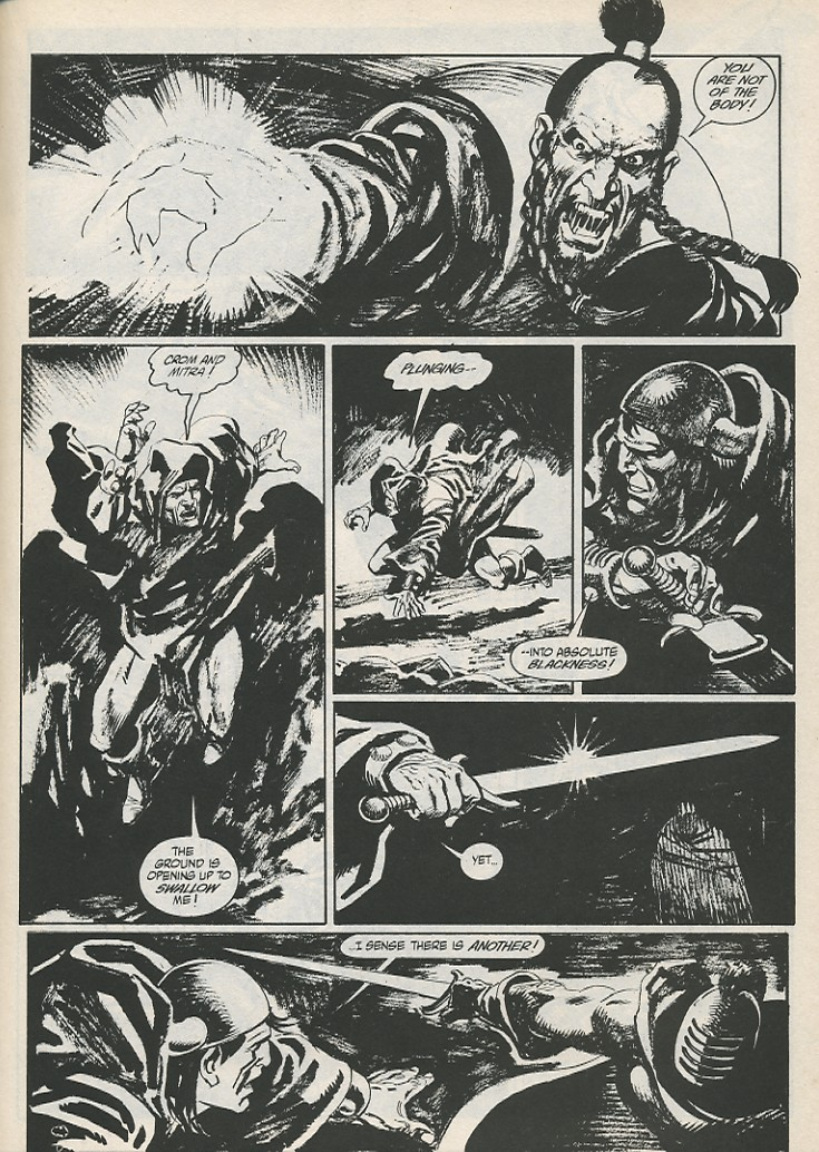 The Savage Sword Of Conan Issue #189 #190 - English 33