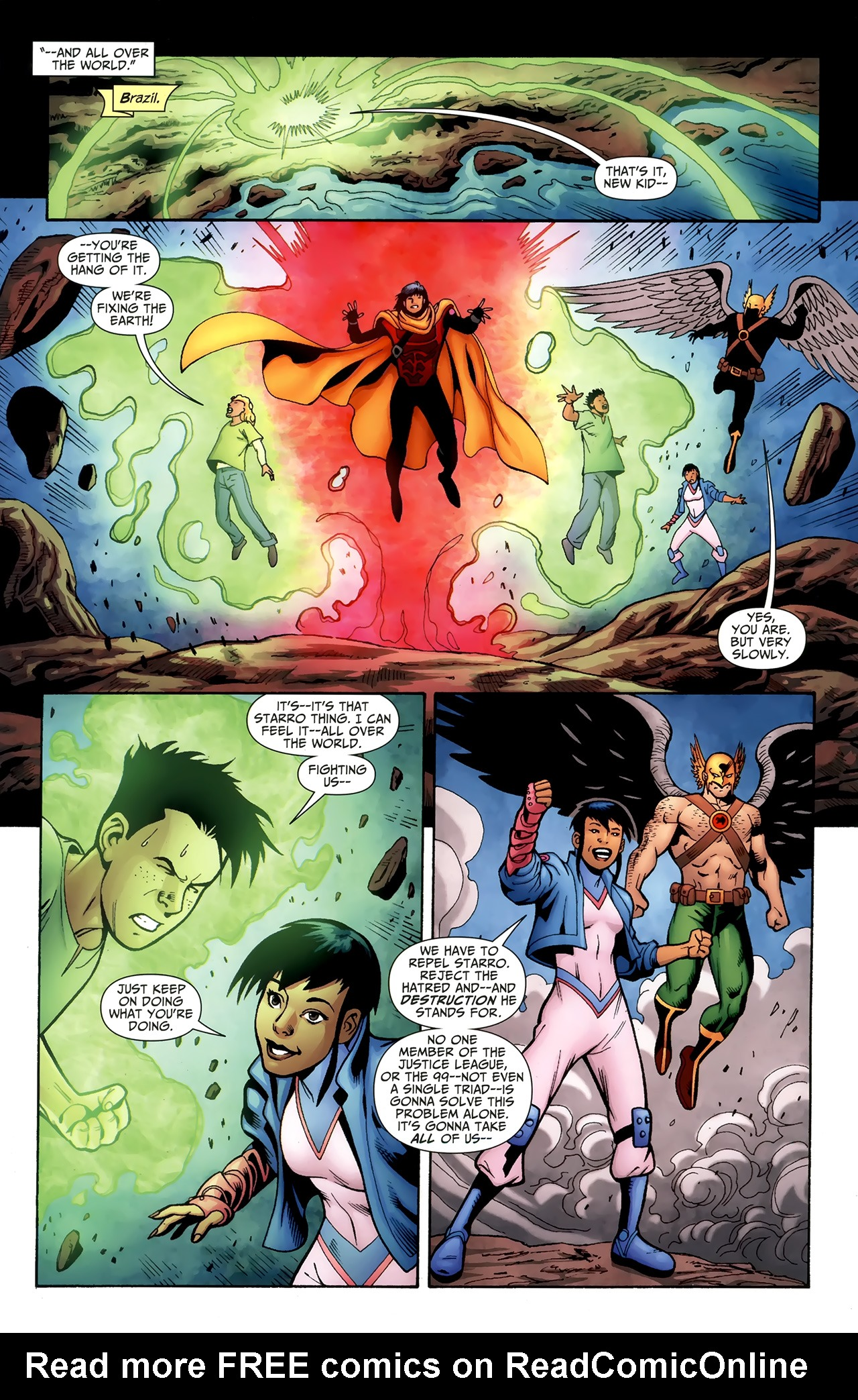 Read online Justice League of America/The 99 comic -  Issue #6 - 9