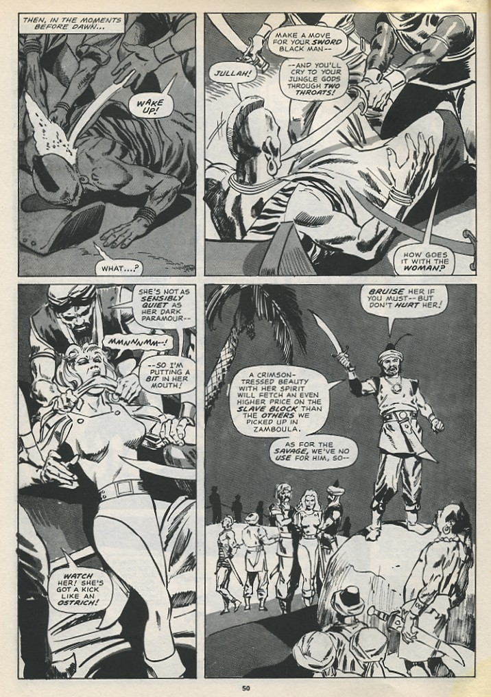 The Savage Sword Of Conan Issue #194 #195 - English 52