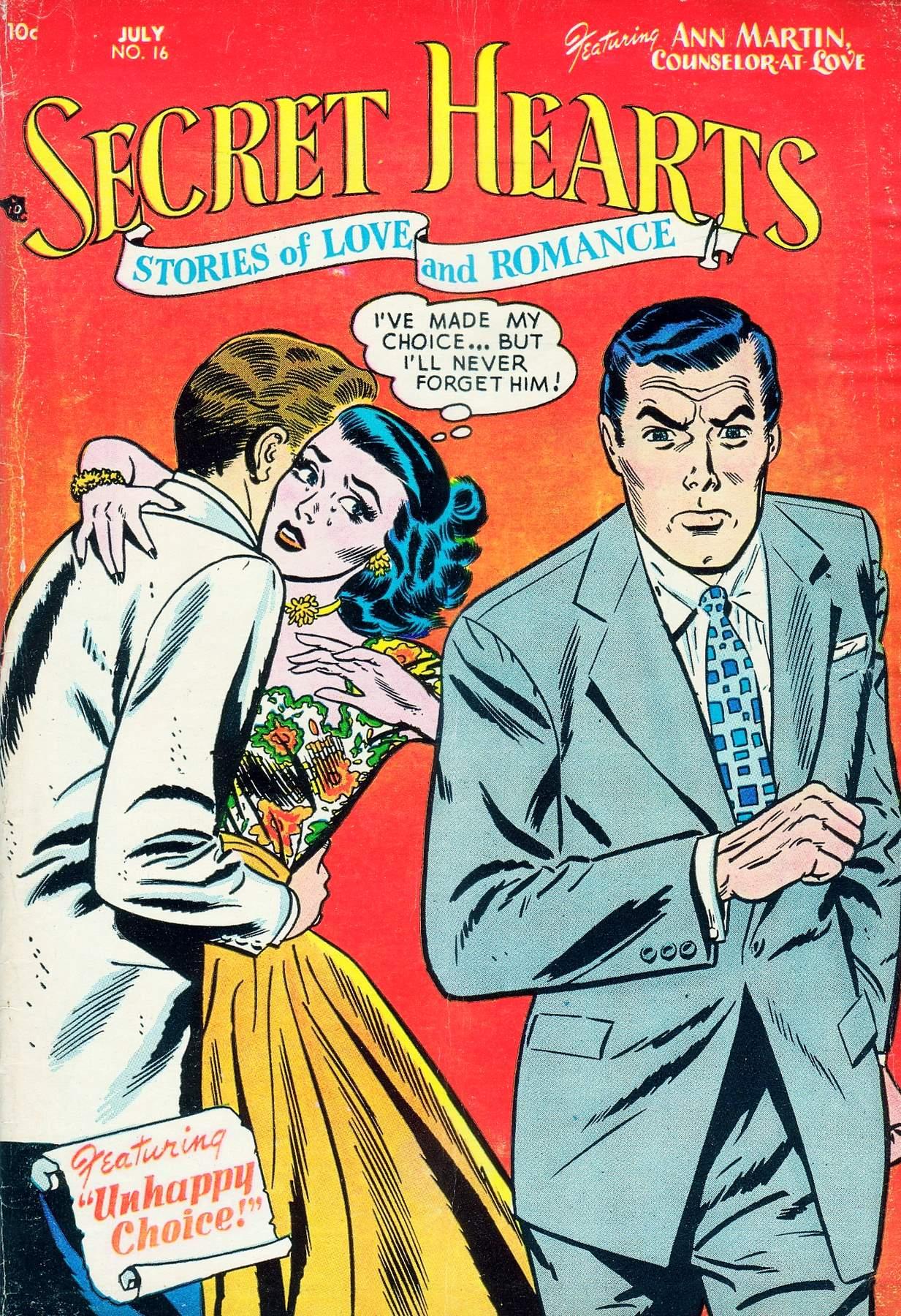Read online Secret Hearts comic -  Issue #16 - 1